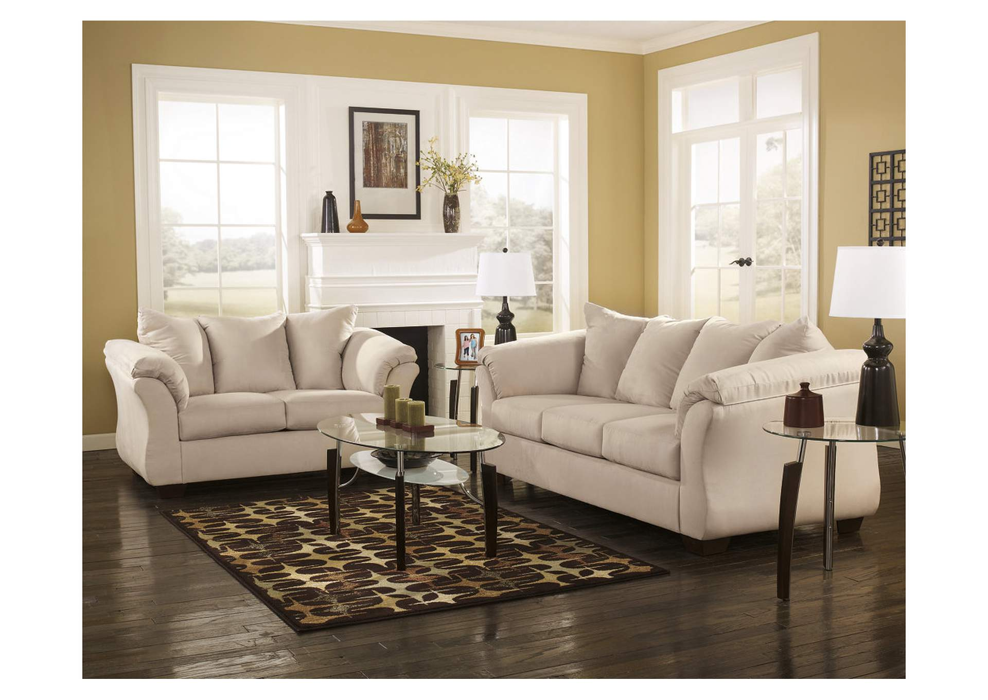 Darcy Stone Sofa & Loveseat,Signature Design By Ashley