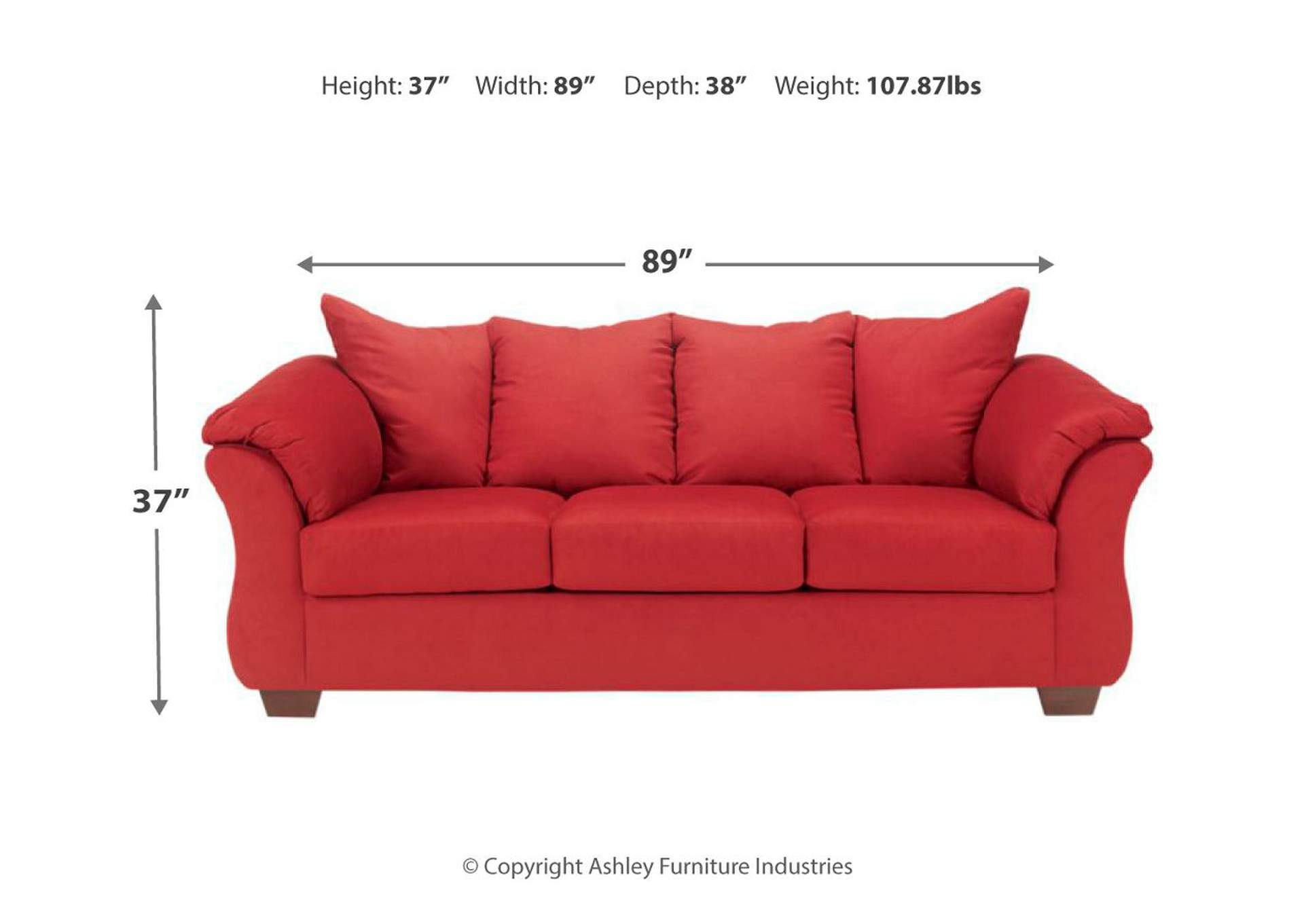 Darcy Salsa Sofa,Signature Design By Ashley