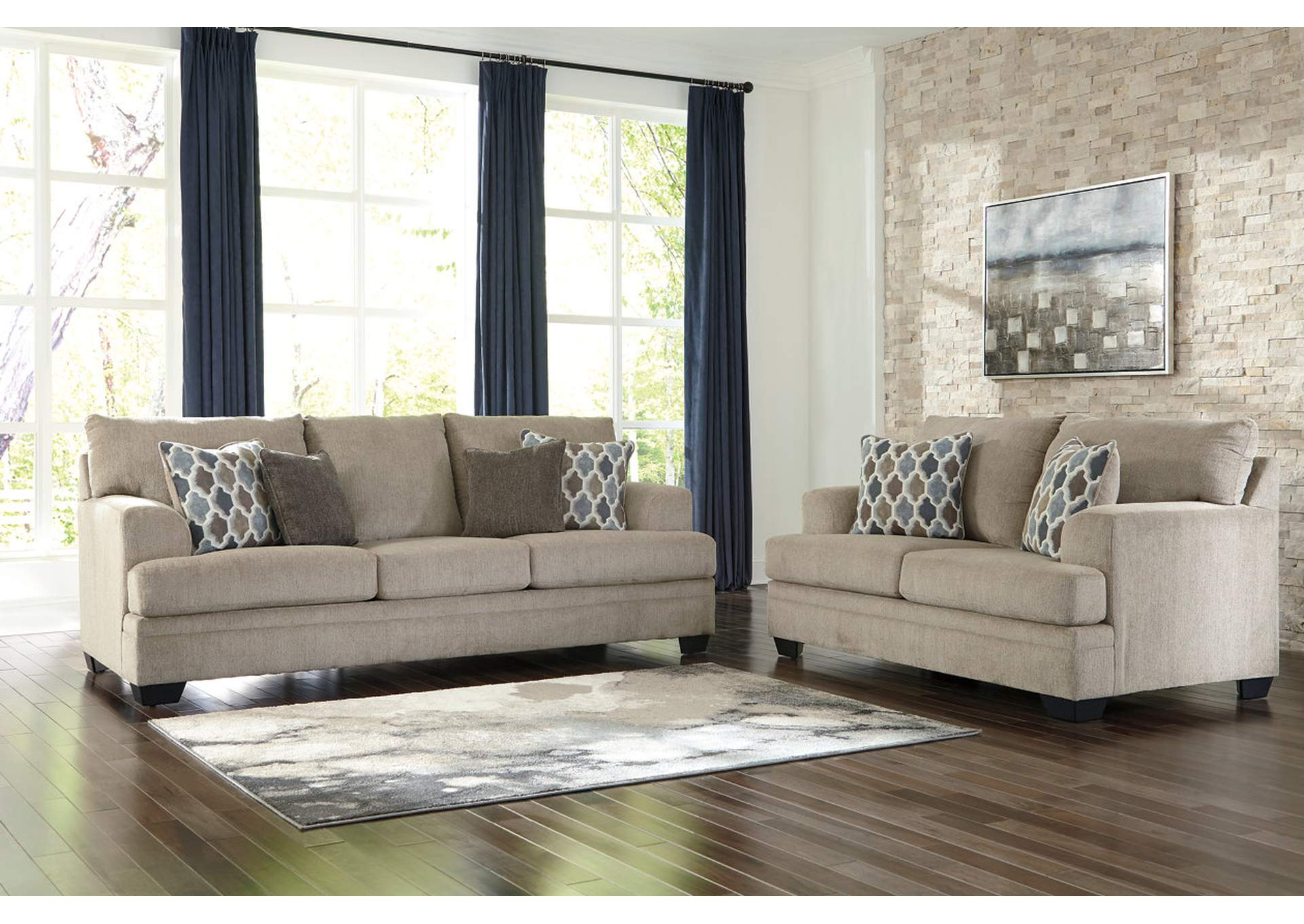 Dorsten Sisal Sofa & Loveseat,Signature Design By Ashley