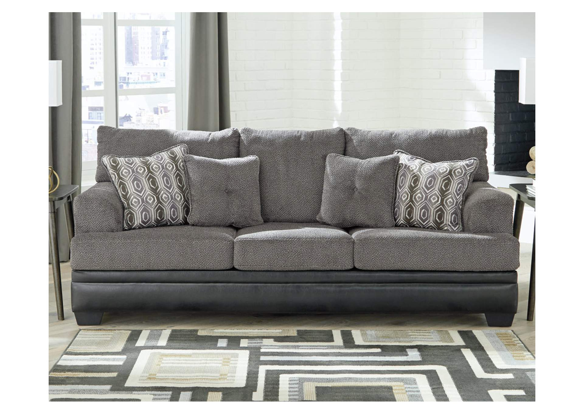 Millingar Smoke Sofa,Signature Design By Ashley