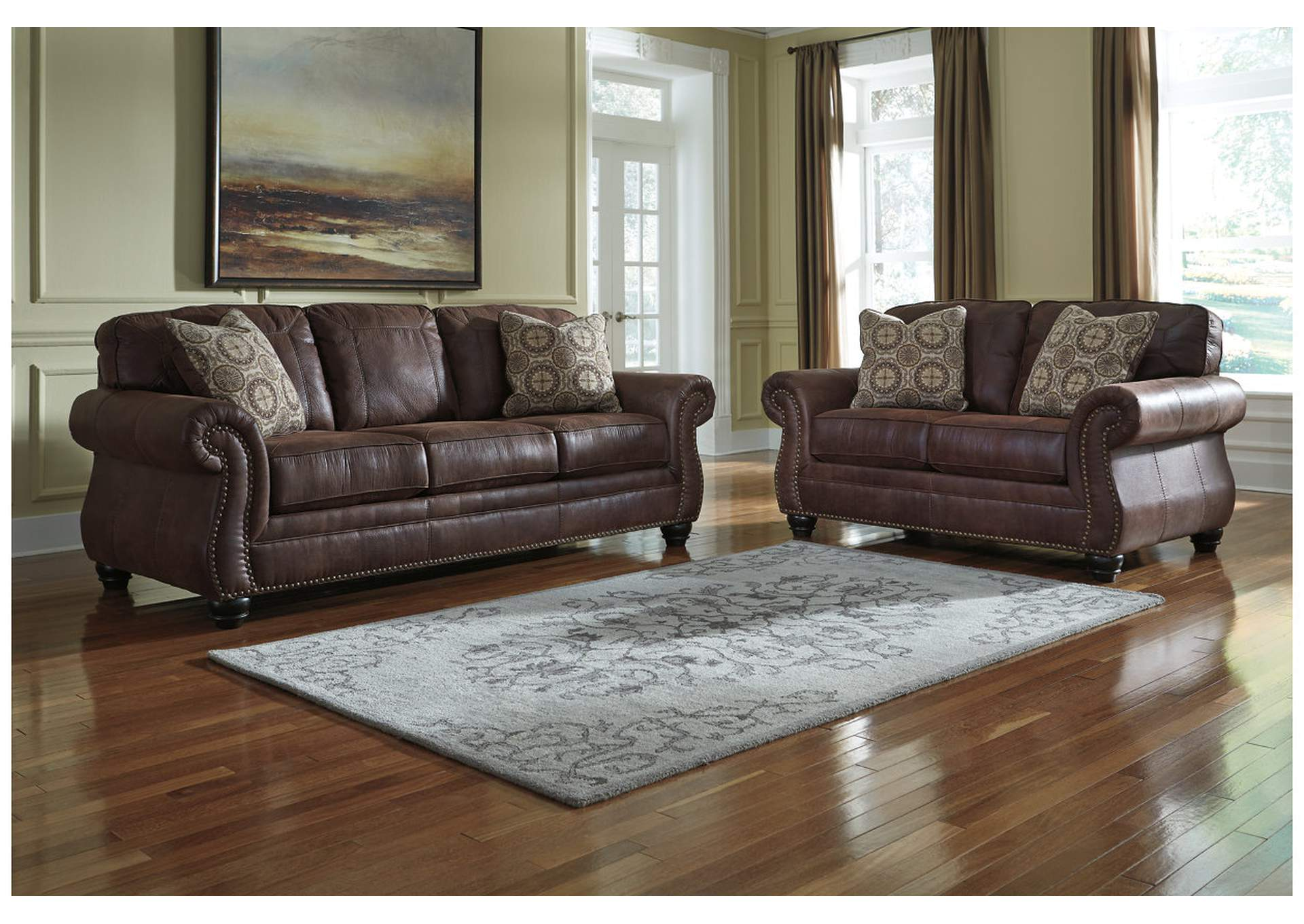 Breville Espresso Sofa and Loveseat,Benchcraft