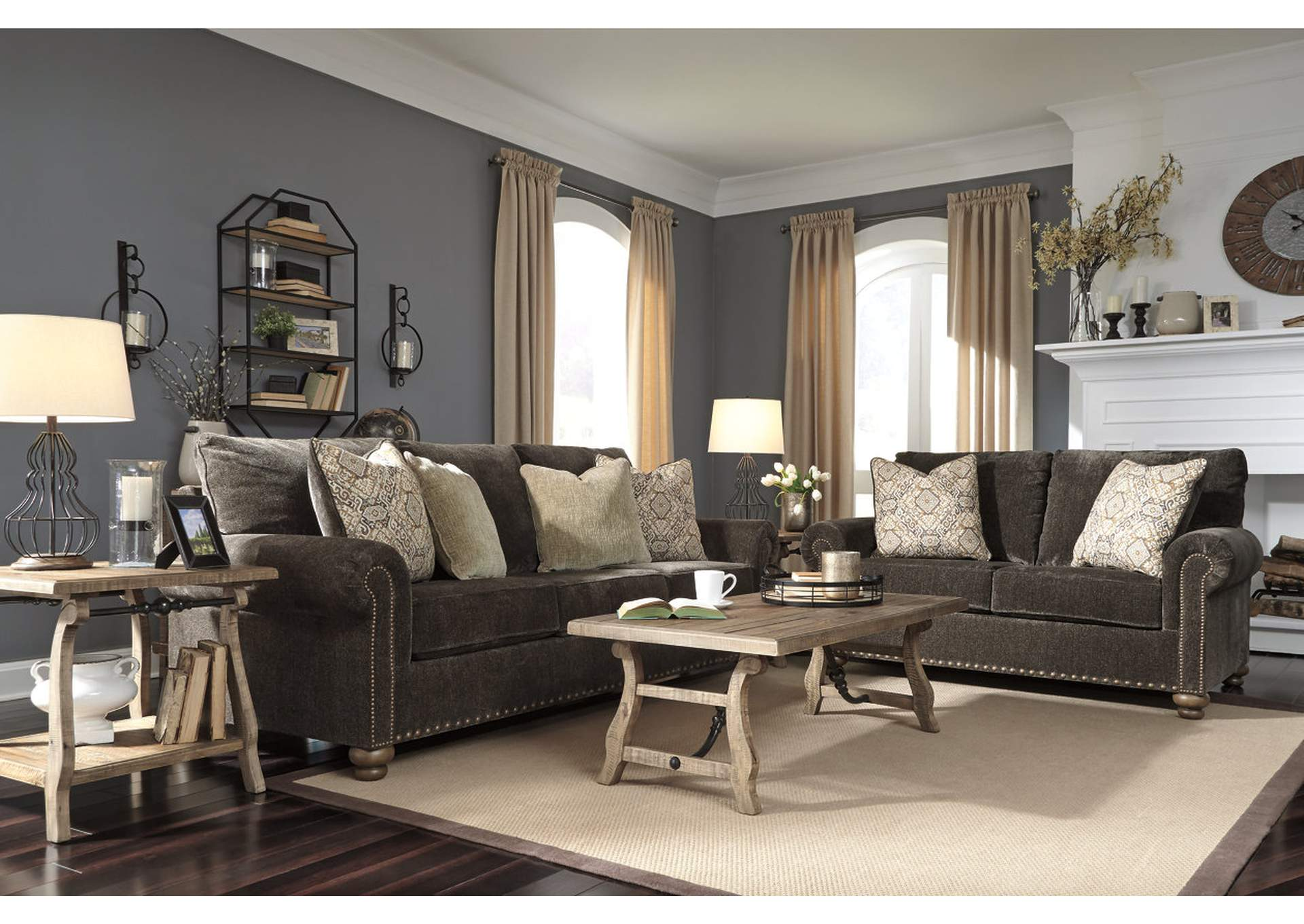 Stracelen Sable Sofa & Loveseat,Signature Design By Ashley