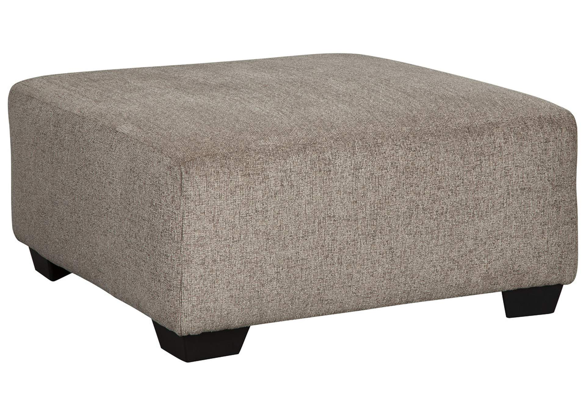 Ballinasloe Platinum Ottoman,Signature Design By Ashley