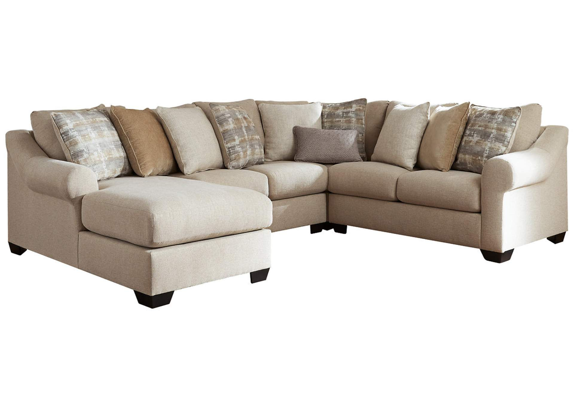 Ingleside 4-Piece Sectional with Chaise,Benchcraft