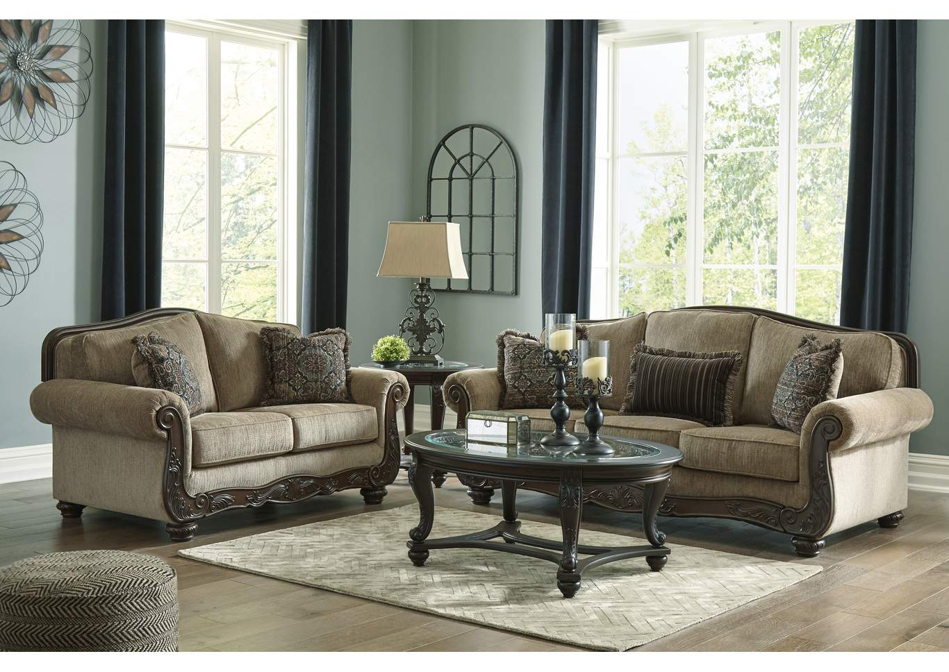 Briaroaks Sofa and Loveseat,Benchcraft