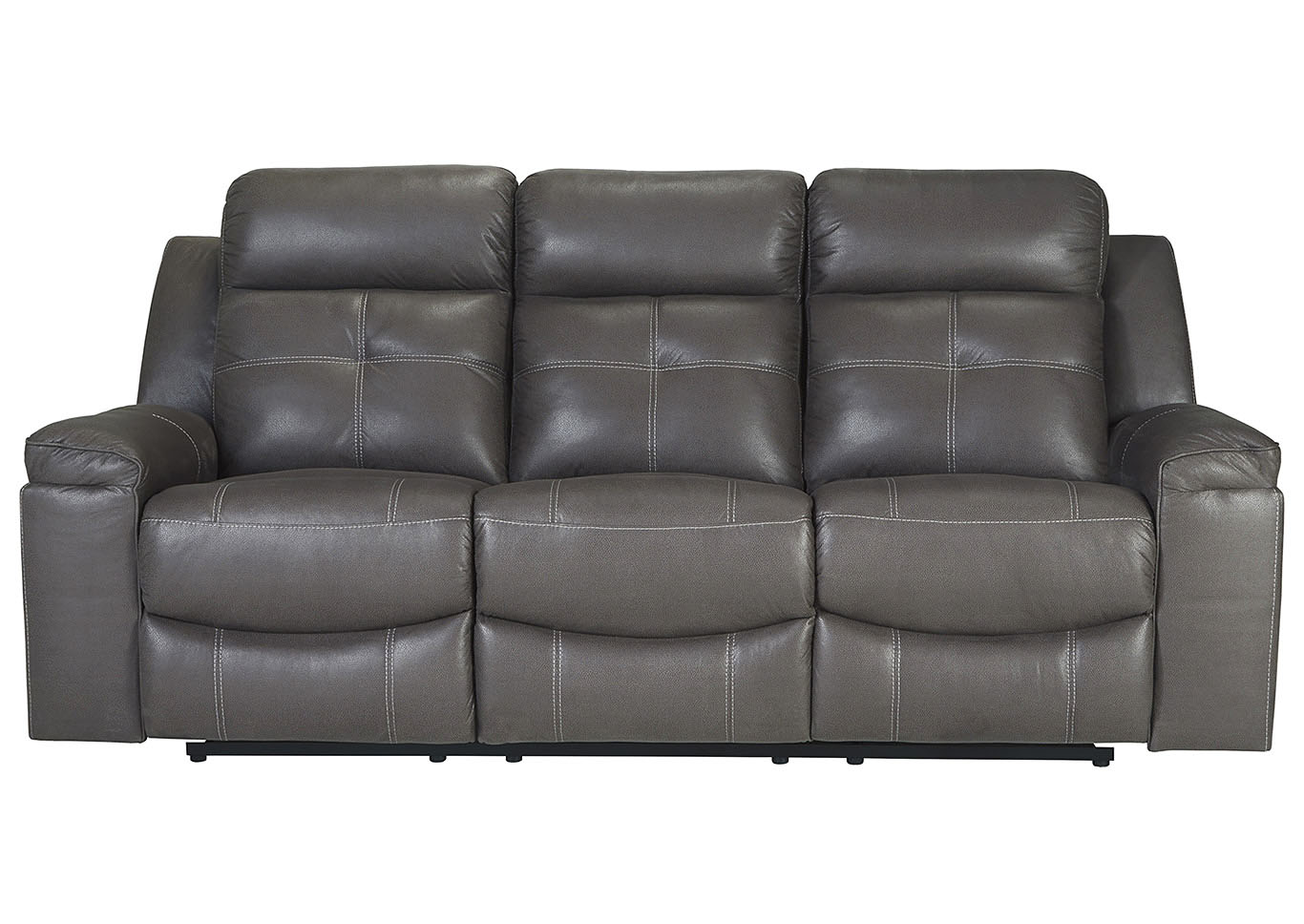 Jesolo Dark Gray Reclining Sofa,Signature Design By Ashley