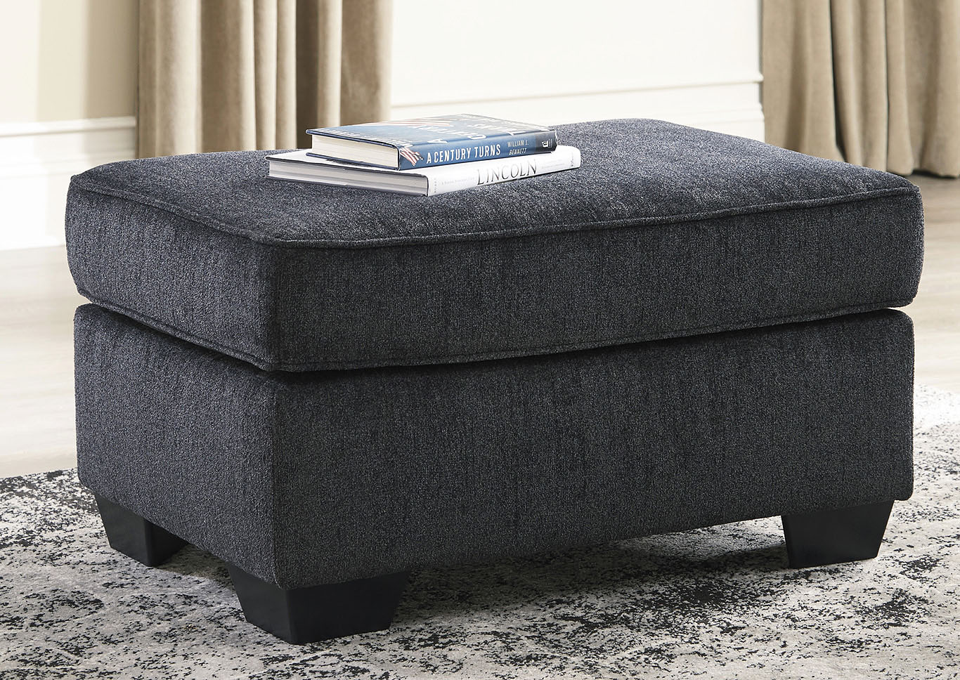 Altari Slate Ottoman,Signature Design By Ashley
