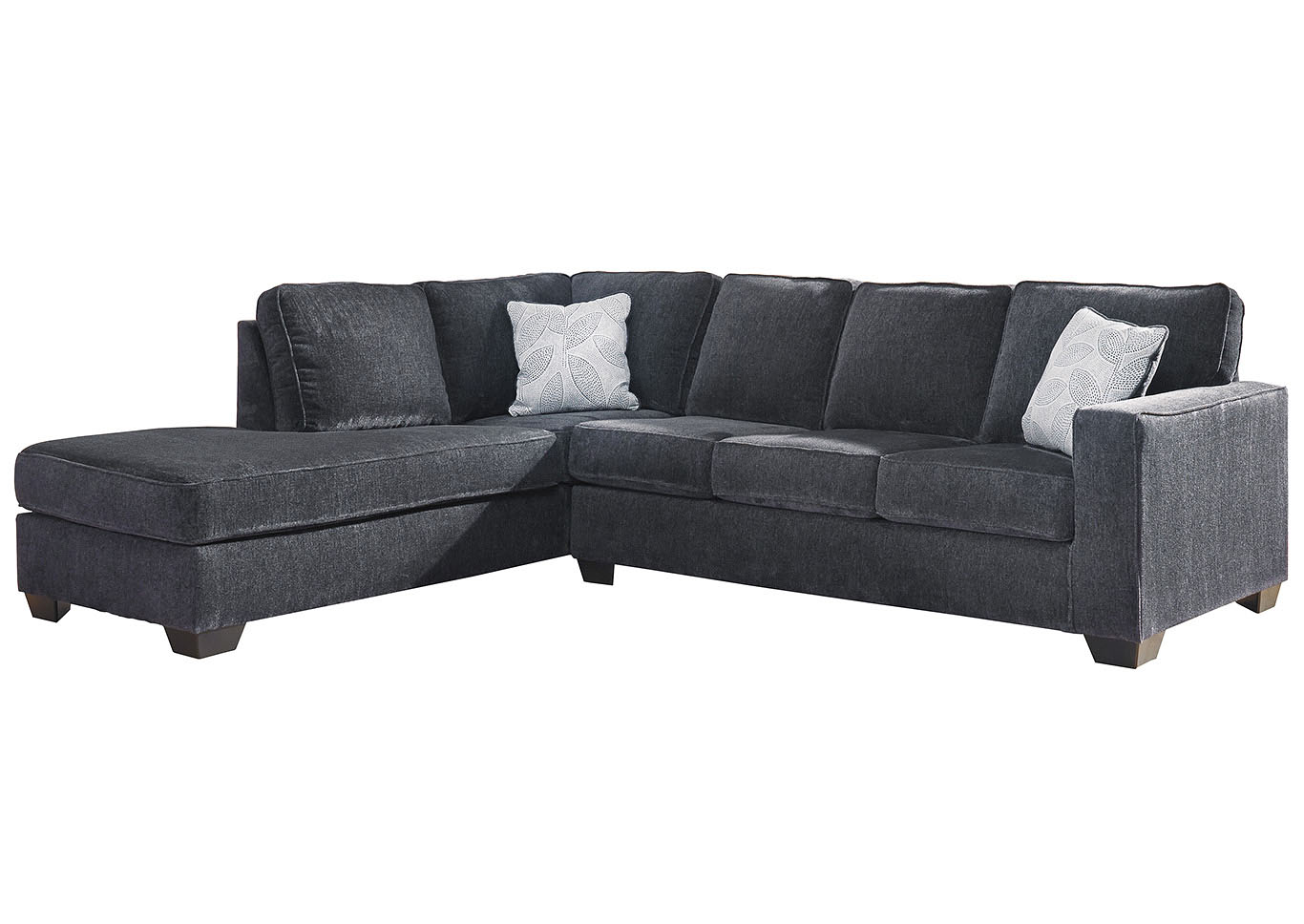 Altari Slate Left-Arm Facing Chaise End Sectional,Signature Design By Ashley