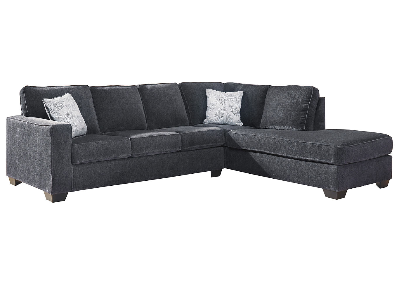 Altari Slate Right-Arm Facing Chaise End Sectional,Signature Design By Ashley