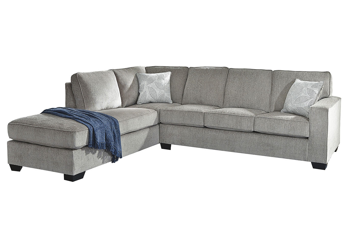 Altari Alloy Left-Arm Facing Chaise End Sectional,Signature Design By Ashley