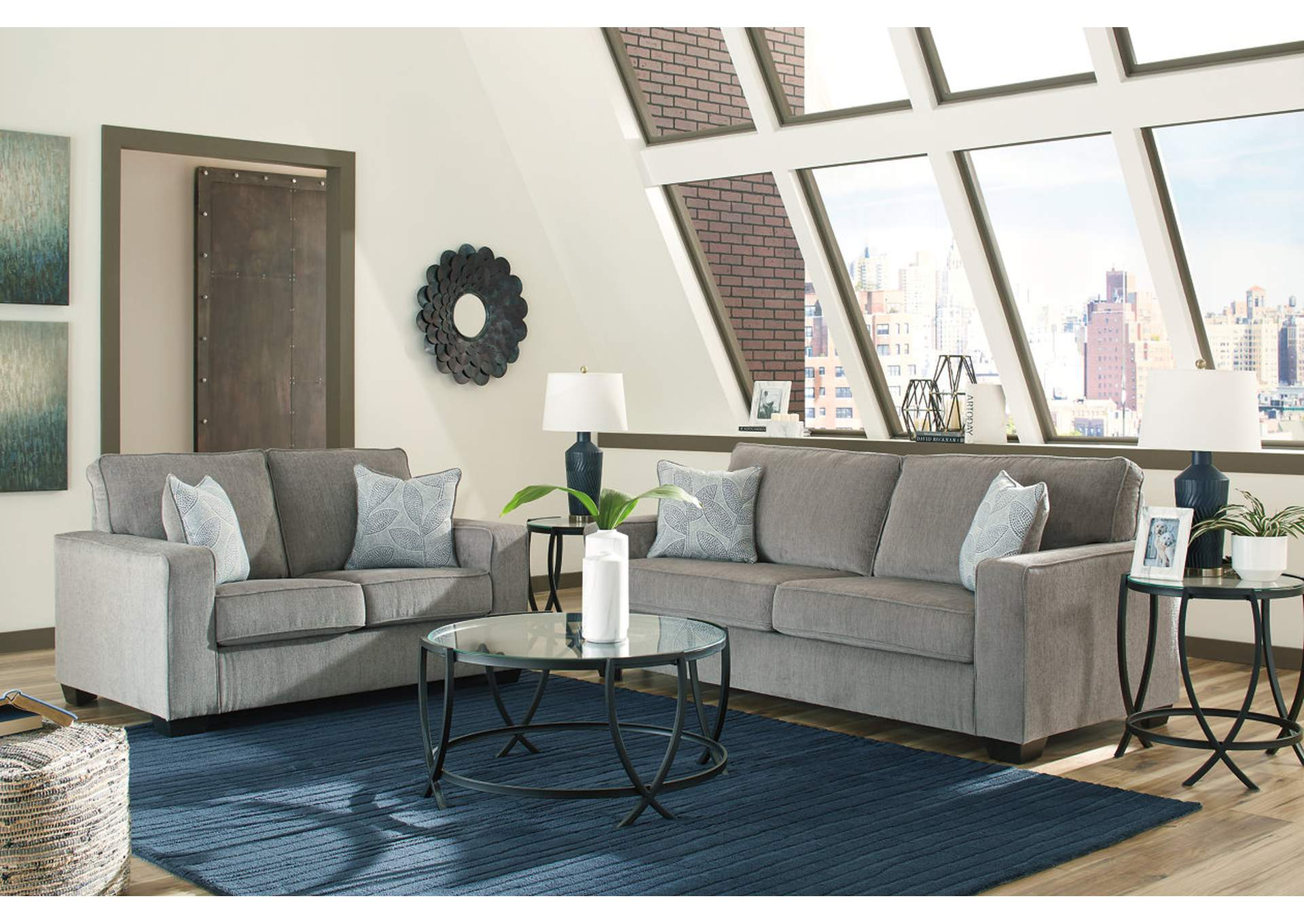 Altary Alloy Sofa and Loveseat Gibson Furniture - Gallatin