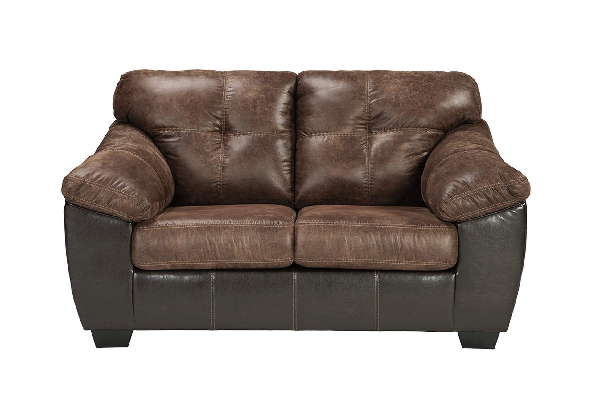 Gregale Coffee Loveseat,Signature Design By Ashley