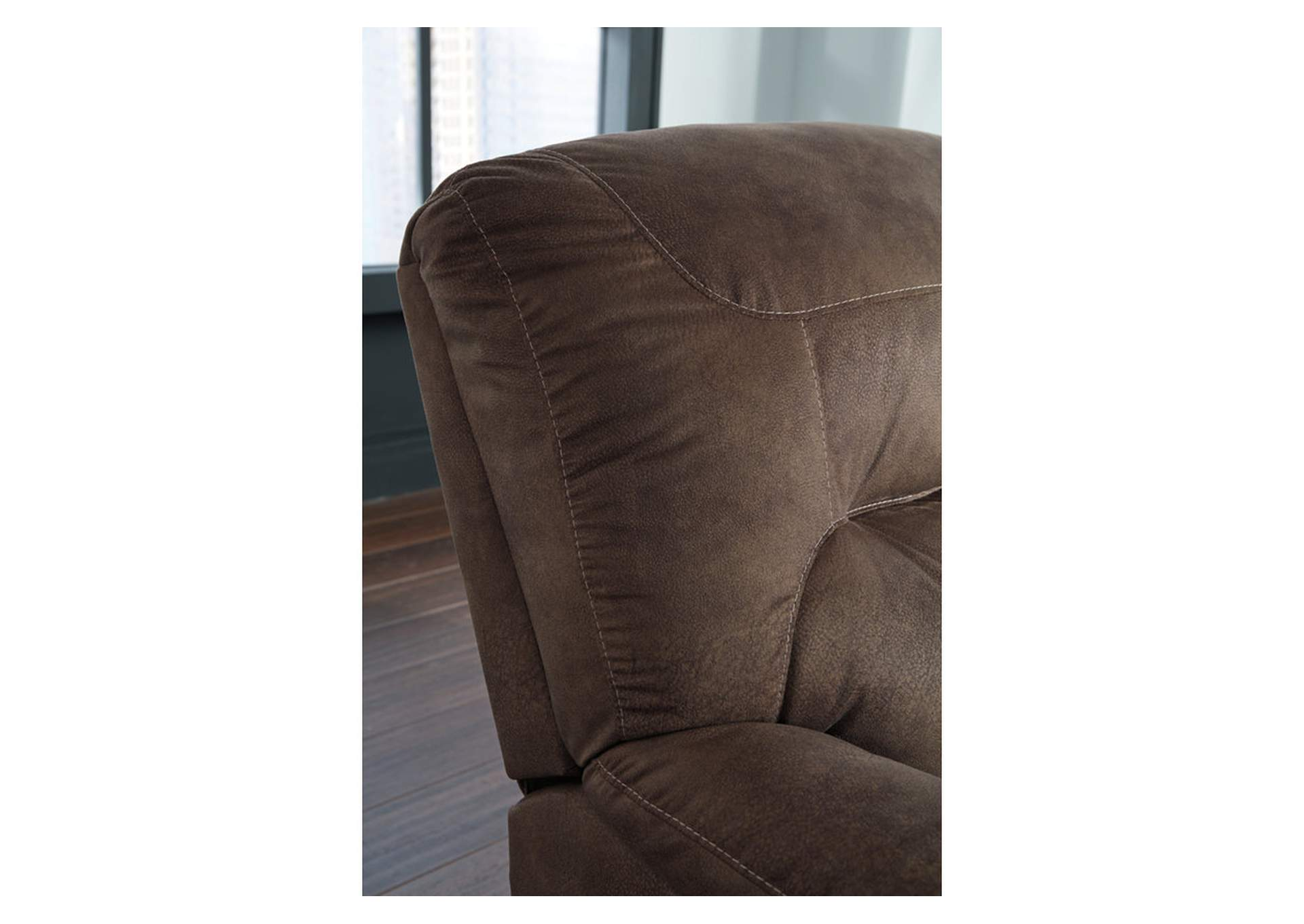 Bolzano Coffee Rocker Recliner,Signature Design By Ashley