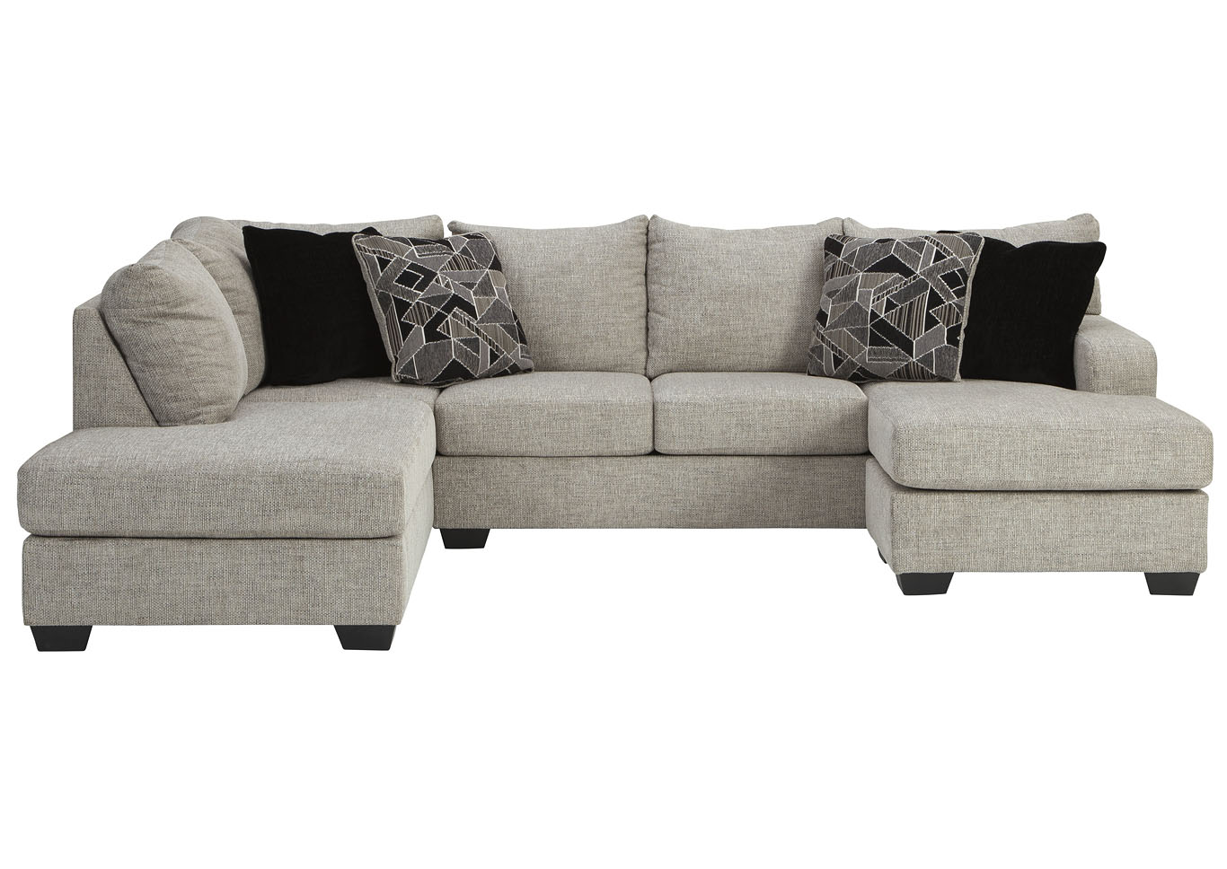 Megginson Storm LAF Chaise End Sectional,Benchcraft
