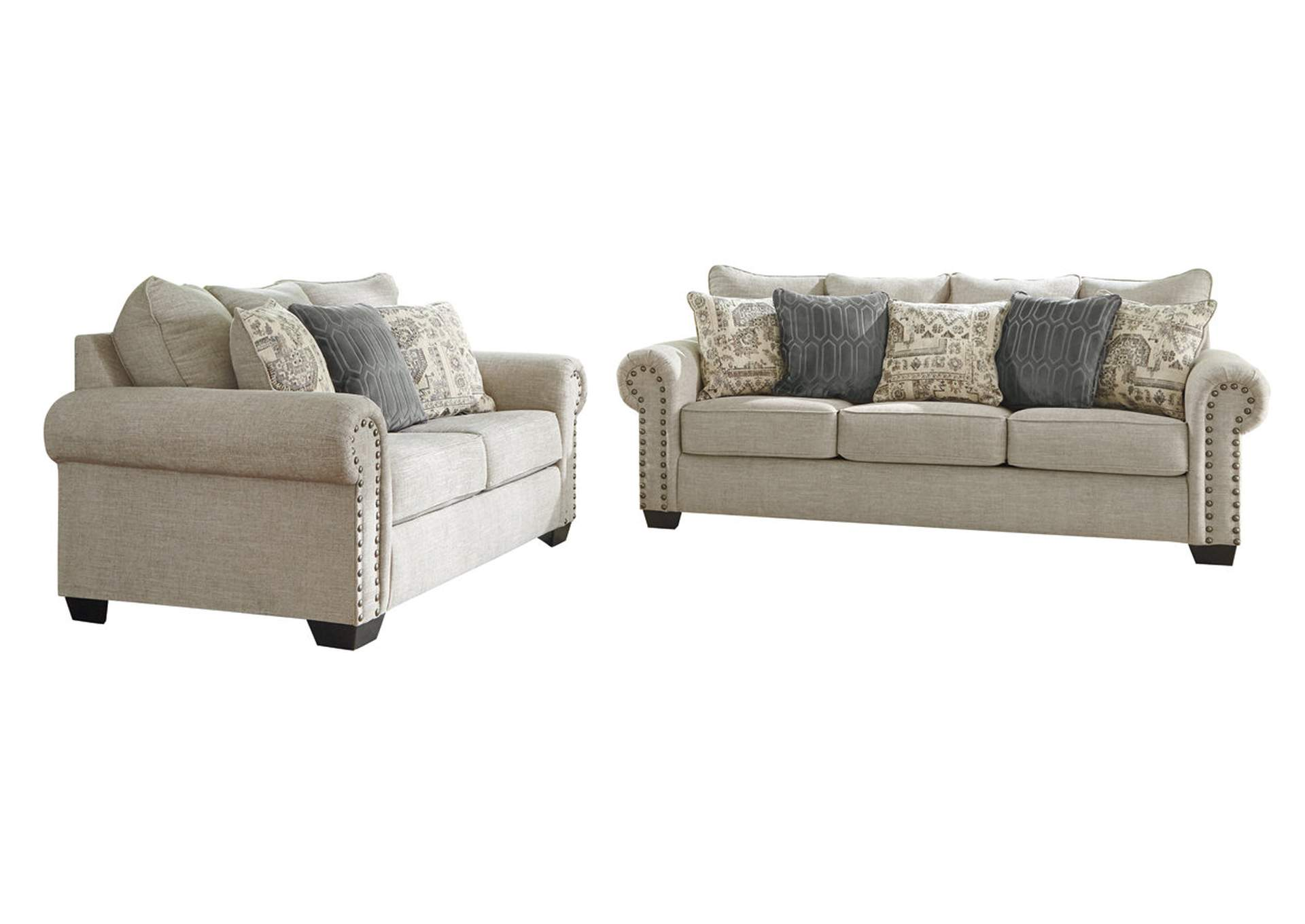 Zarina Jute Sofa & Loveseat,Signature Design By Ashley