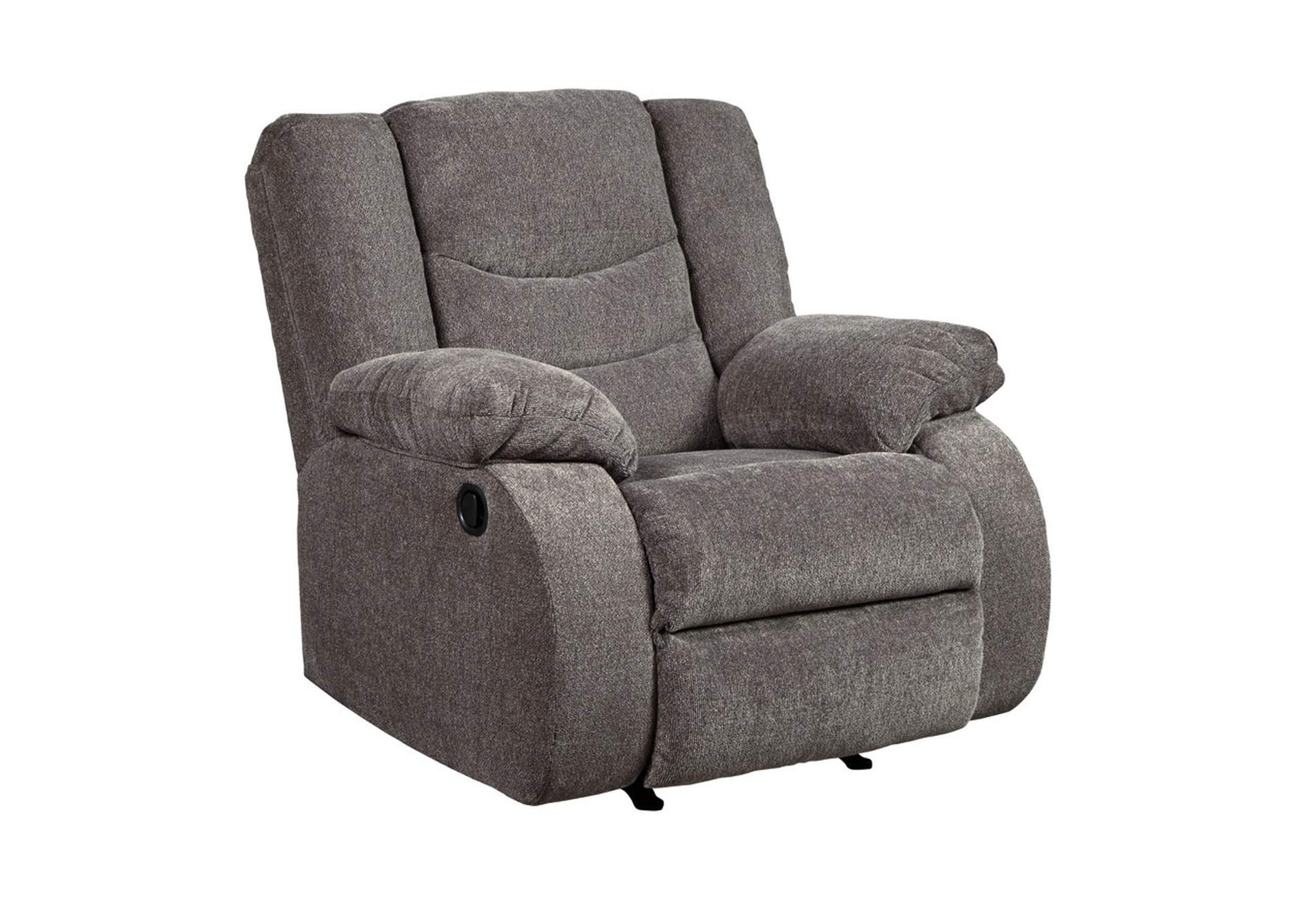 Tulen Gray Rocker Recliner,Signature Design By Ashley