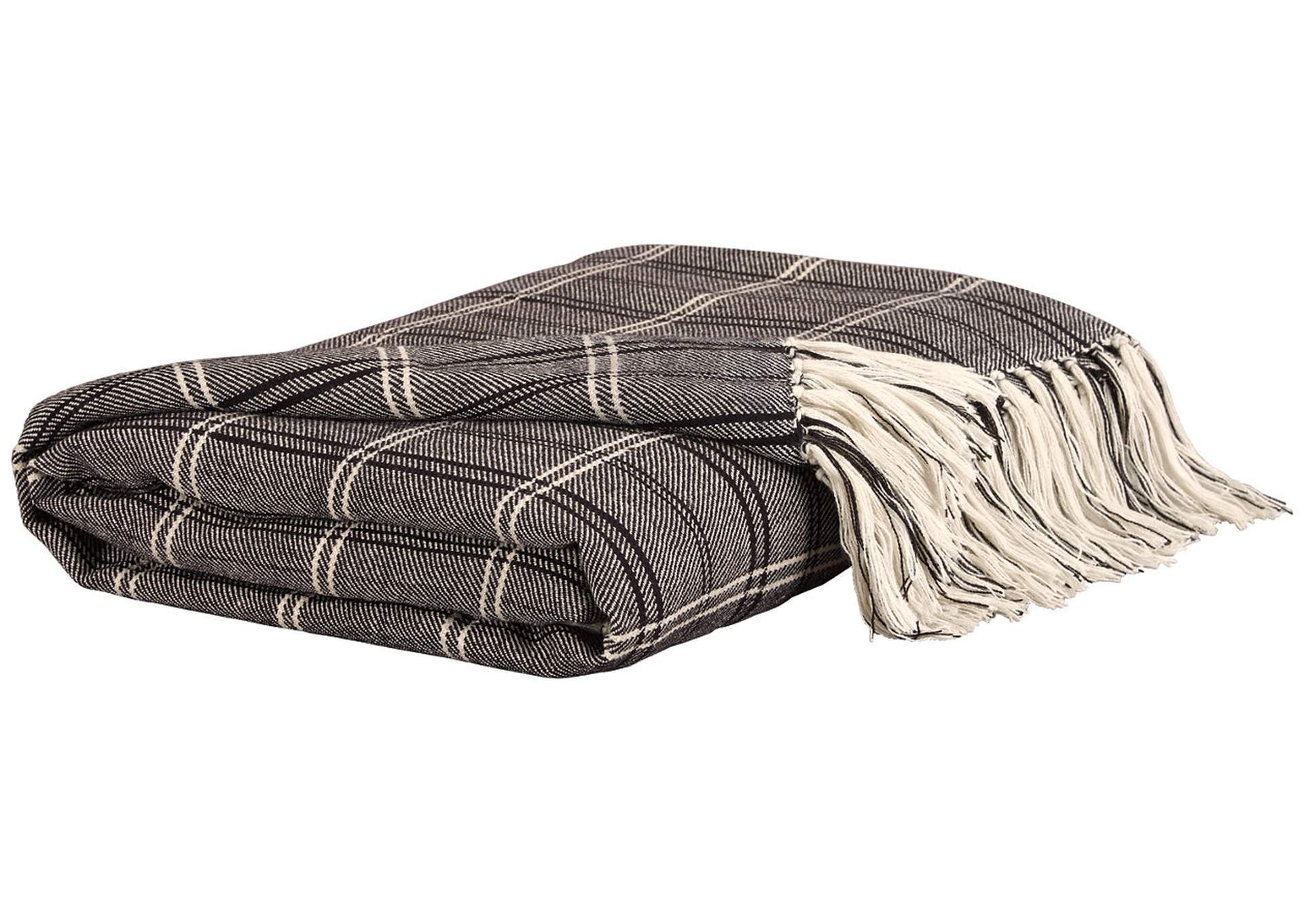 Luis Black Throw (Set of 3),Direct To Consumer Express