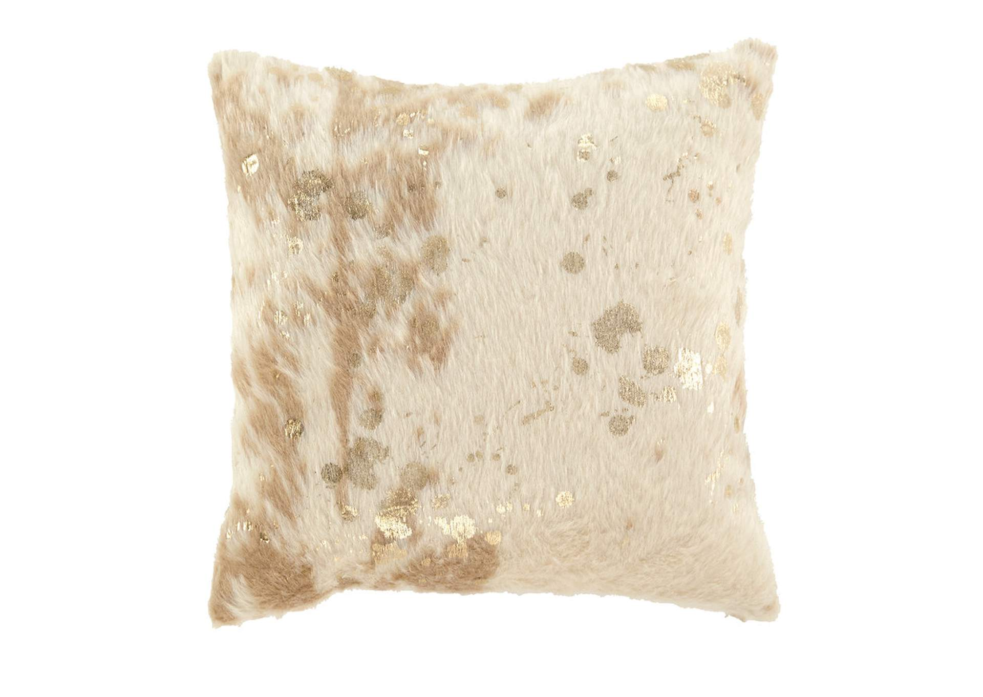 Landers Cream/Gold Pillow (Set of 4),Direct To Consumer Express