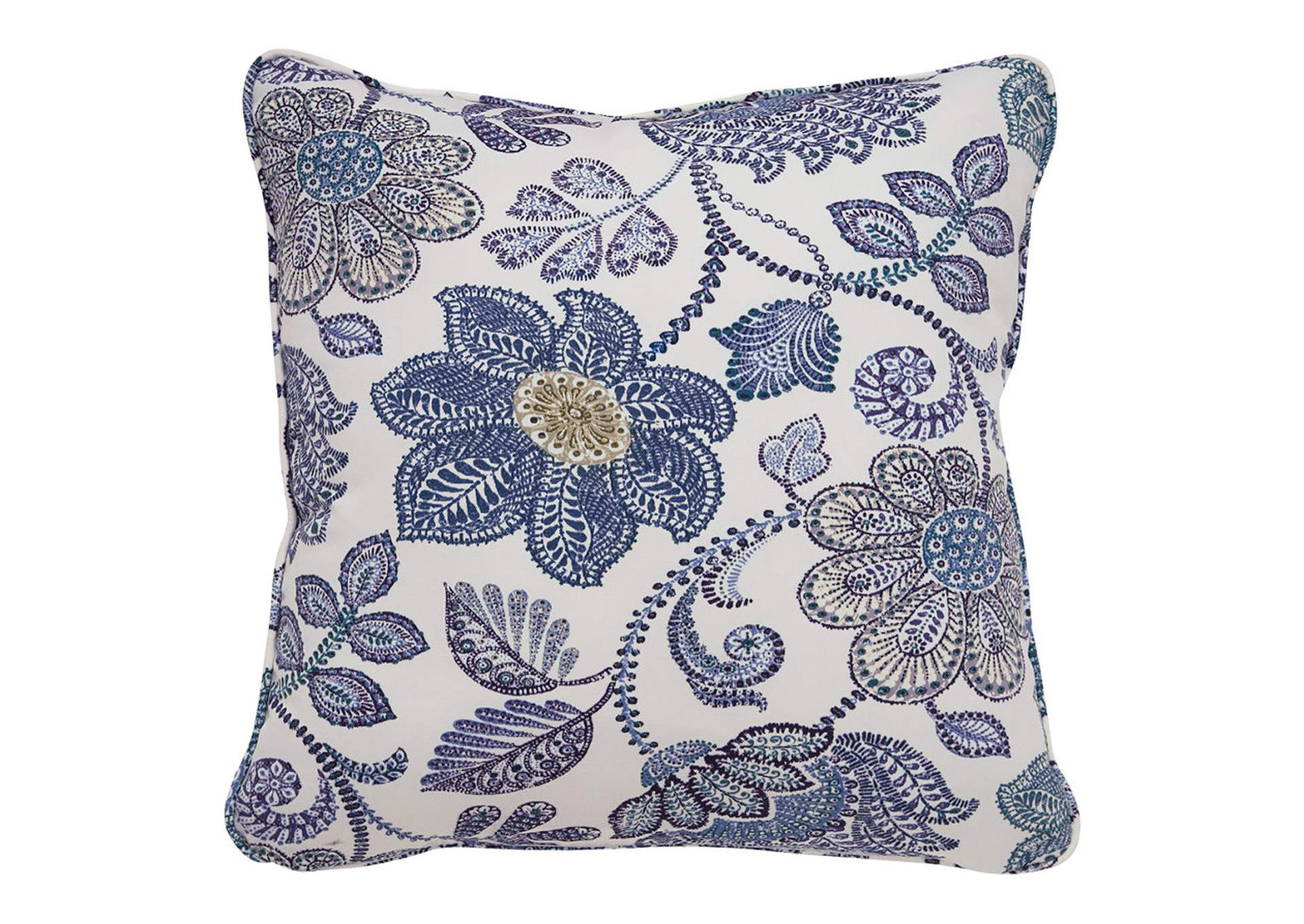 Miriam Blue/Green Pillow (Set of 4),Signature Design By Ashley