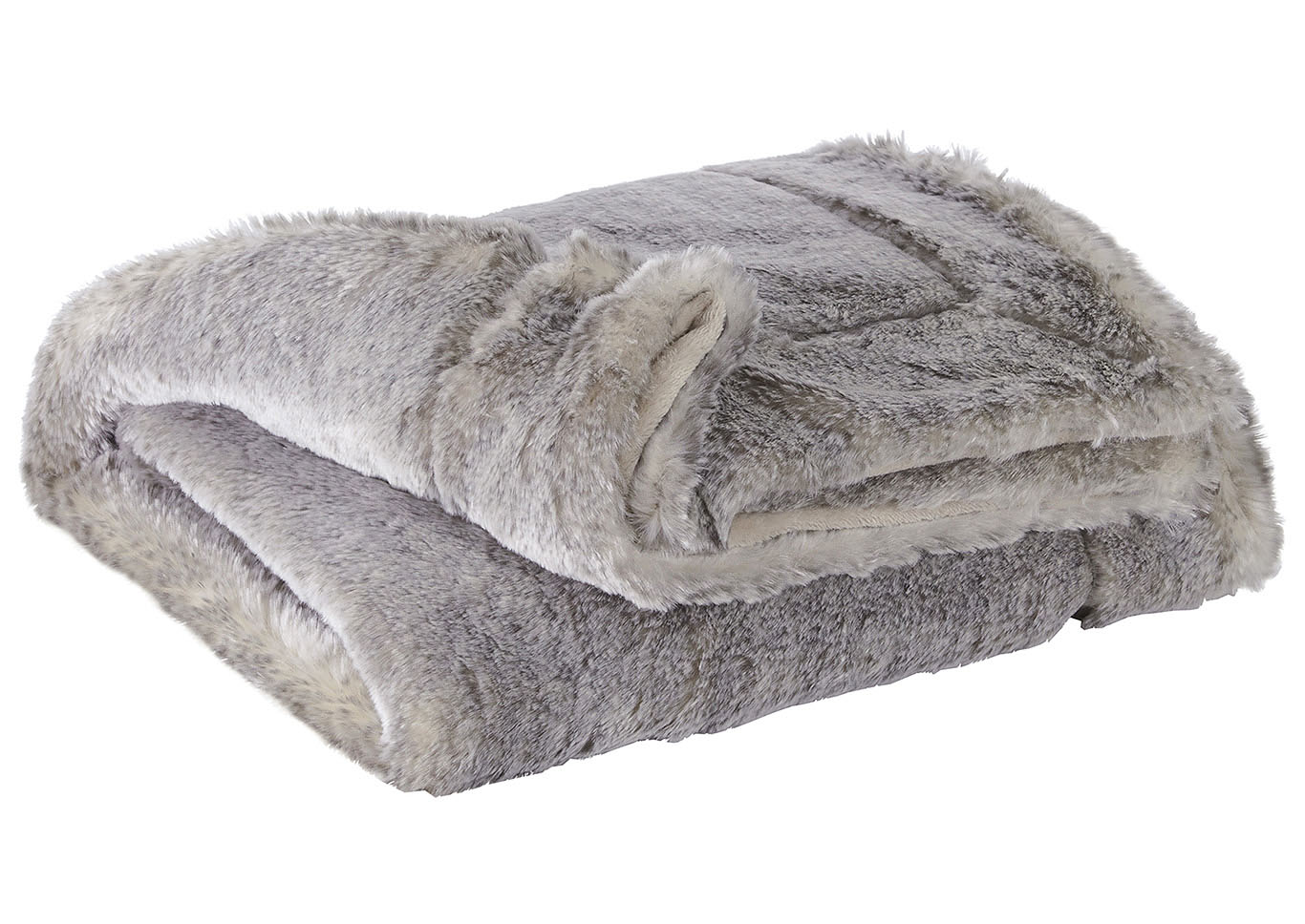 Raegan Gray/Tan Throw (Set of 3),Signature Design By Ashley