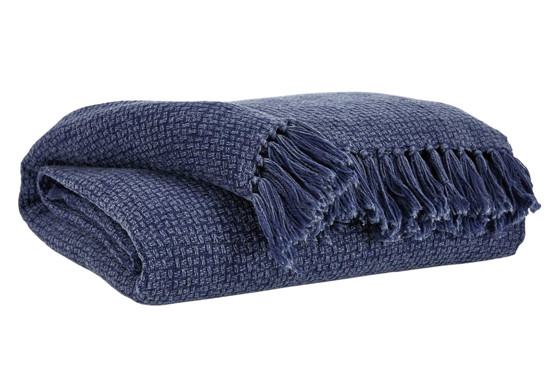 Yasmin Blue Throw,Signature Design By Ashley