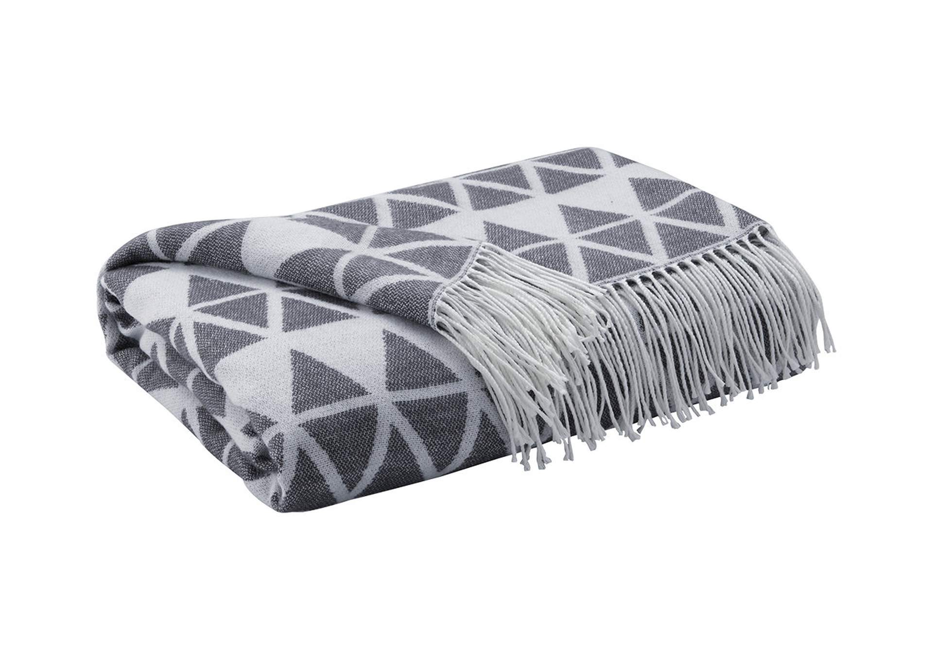 Noemi Slate Throw (Set of 3),Direct To Consumer Express
