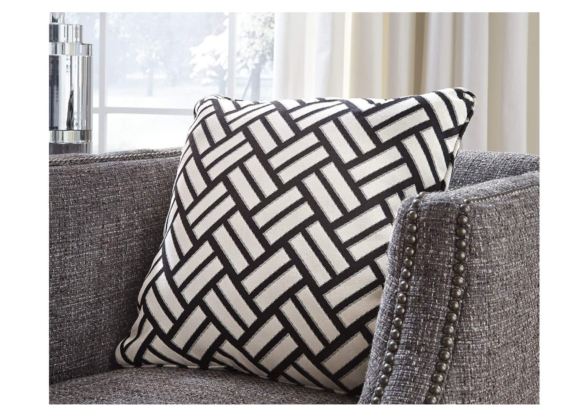 Ayres Black/White 4 Piece Pillow Set,Direct To Consumer Express