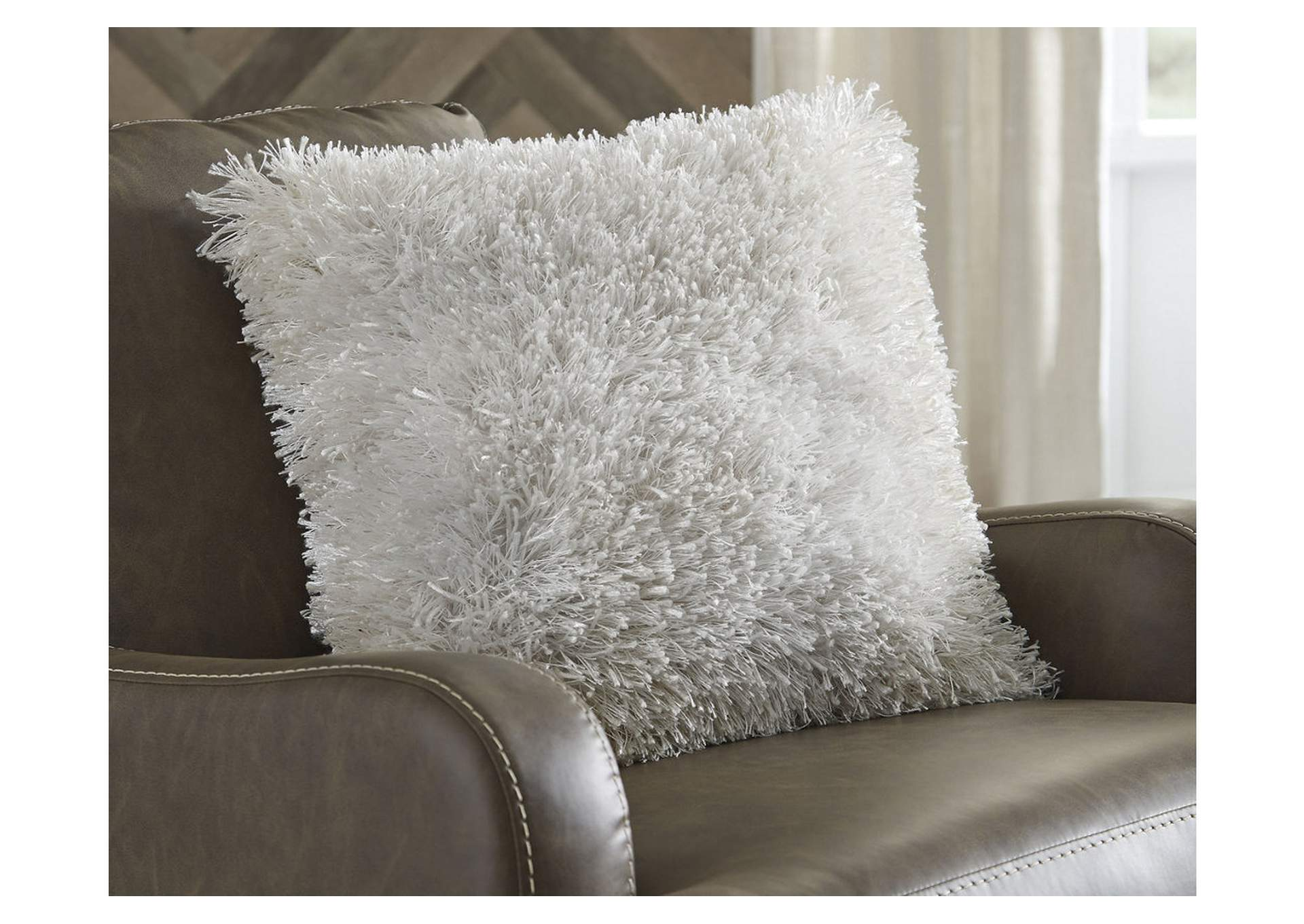 Jasmen White Pillow (4/CS),Signature Design By Ashley