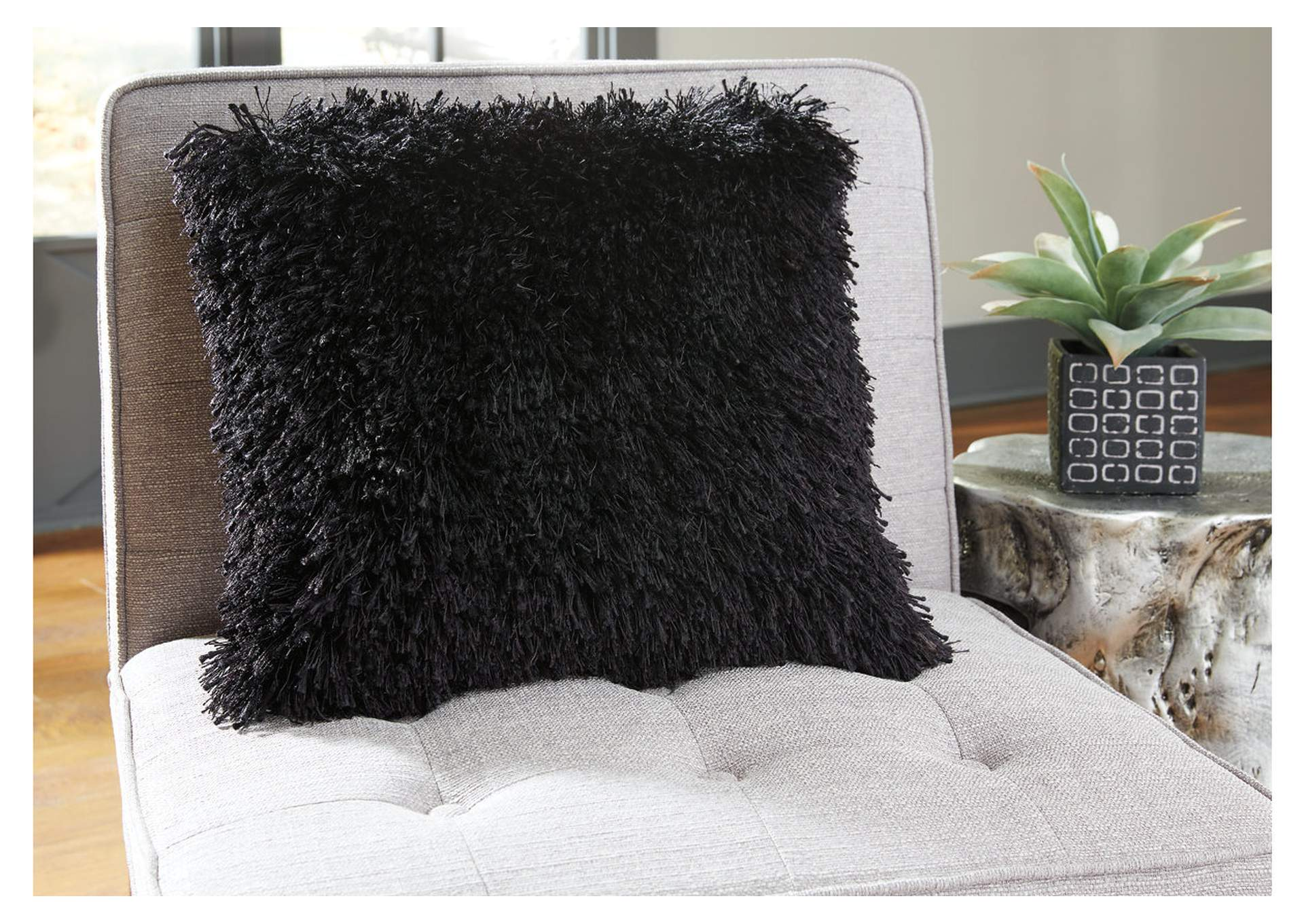 Jasmen Black Pillow (4/CS),Signature Design By Ashley