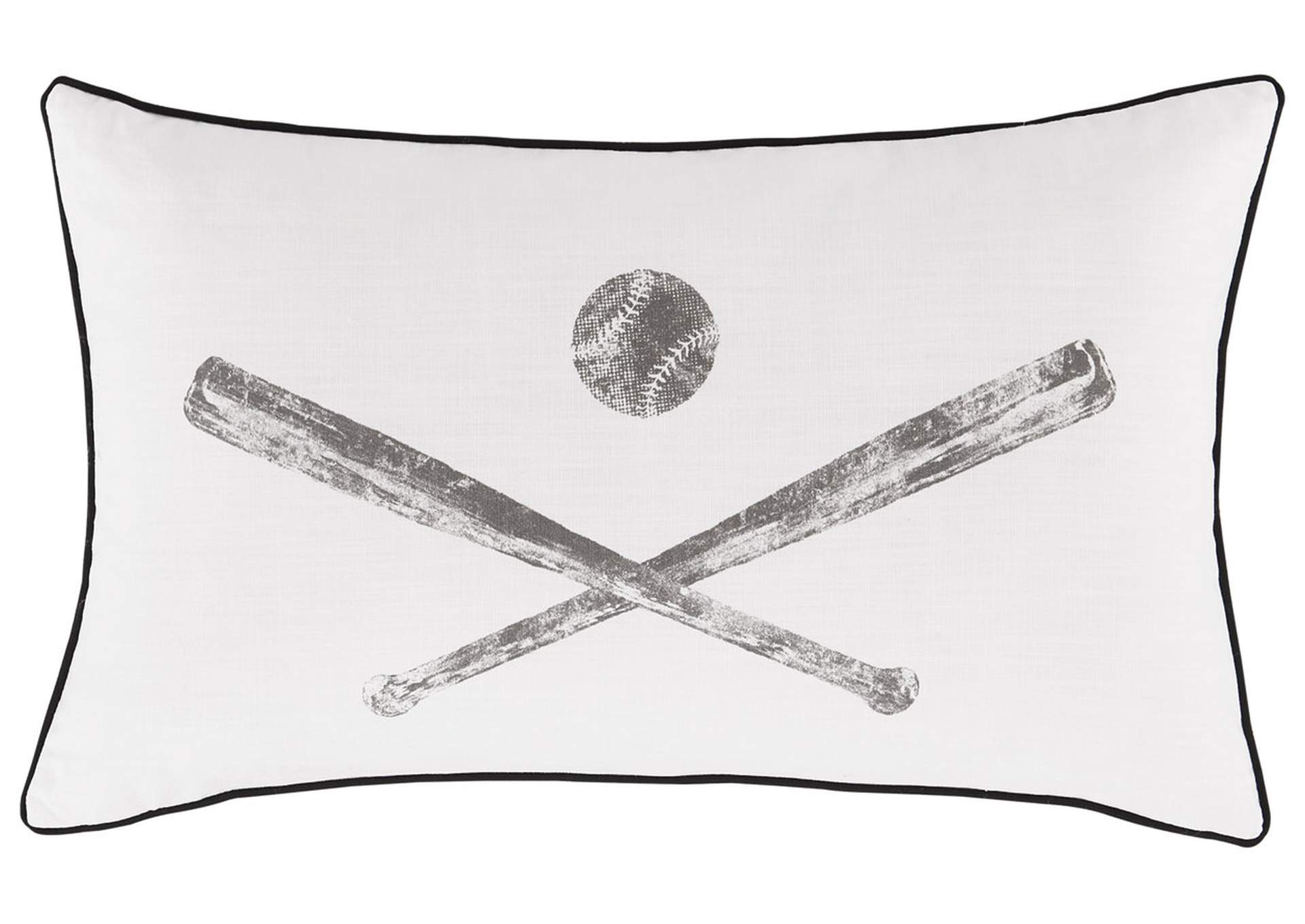 Waman Baseball Design 4 Piece Pillow Set,Signature Design By Ashley