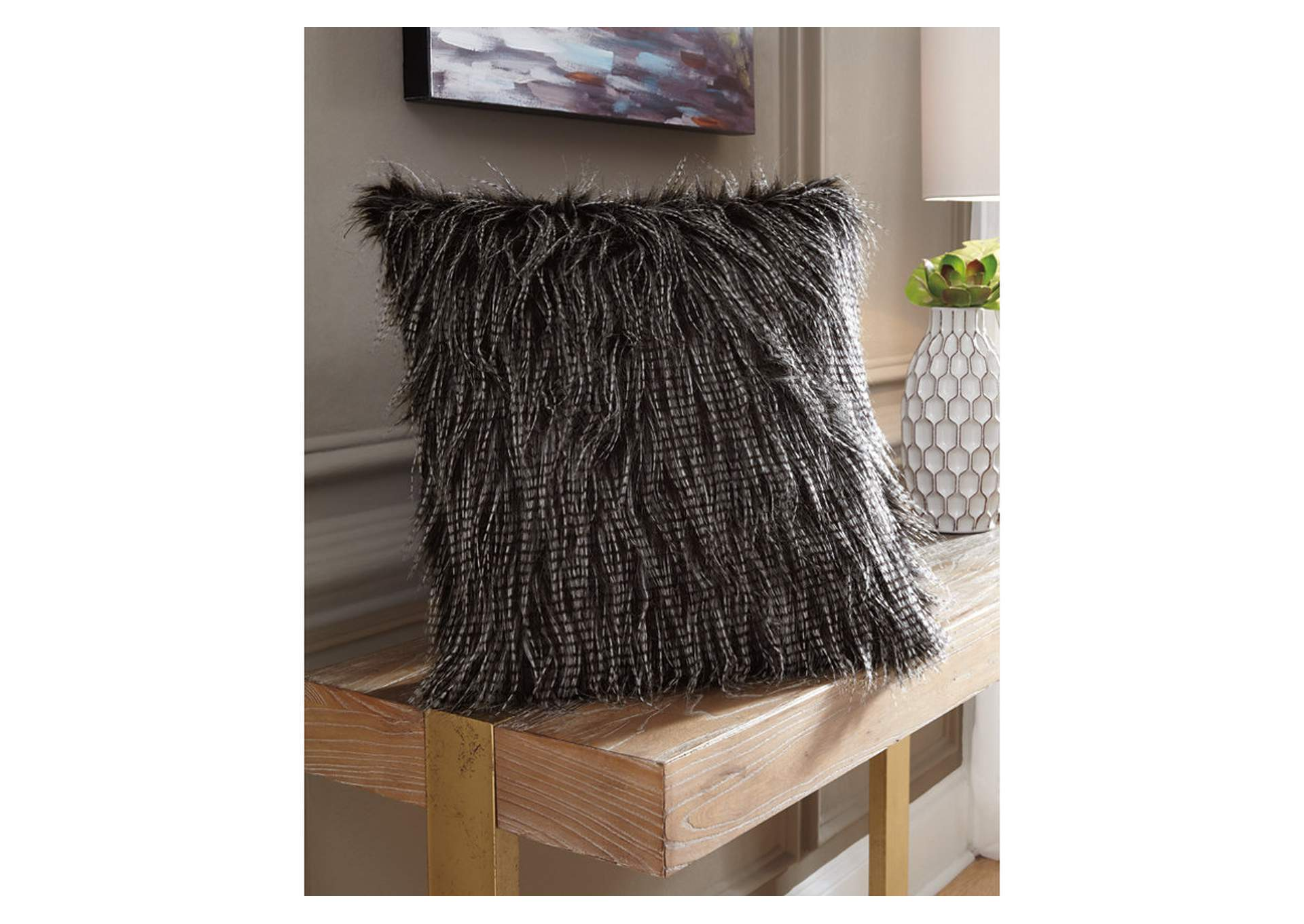 Ryley Black Pillow (Set of 4),Signature Design By Ashley