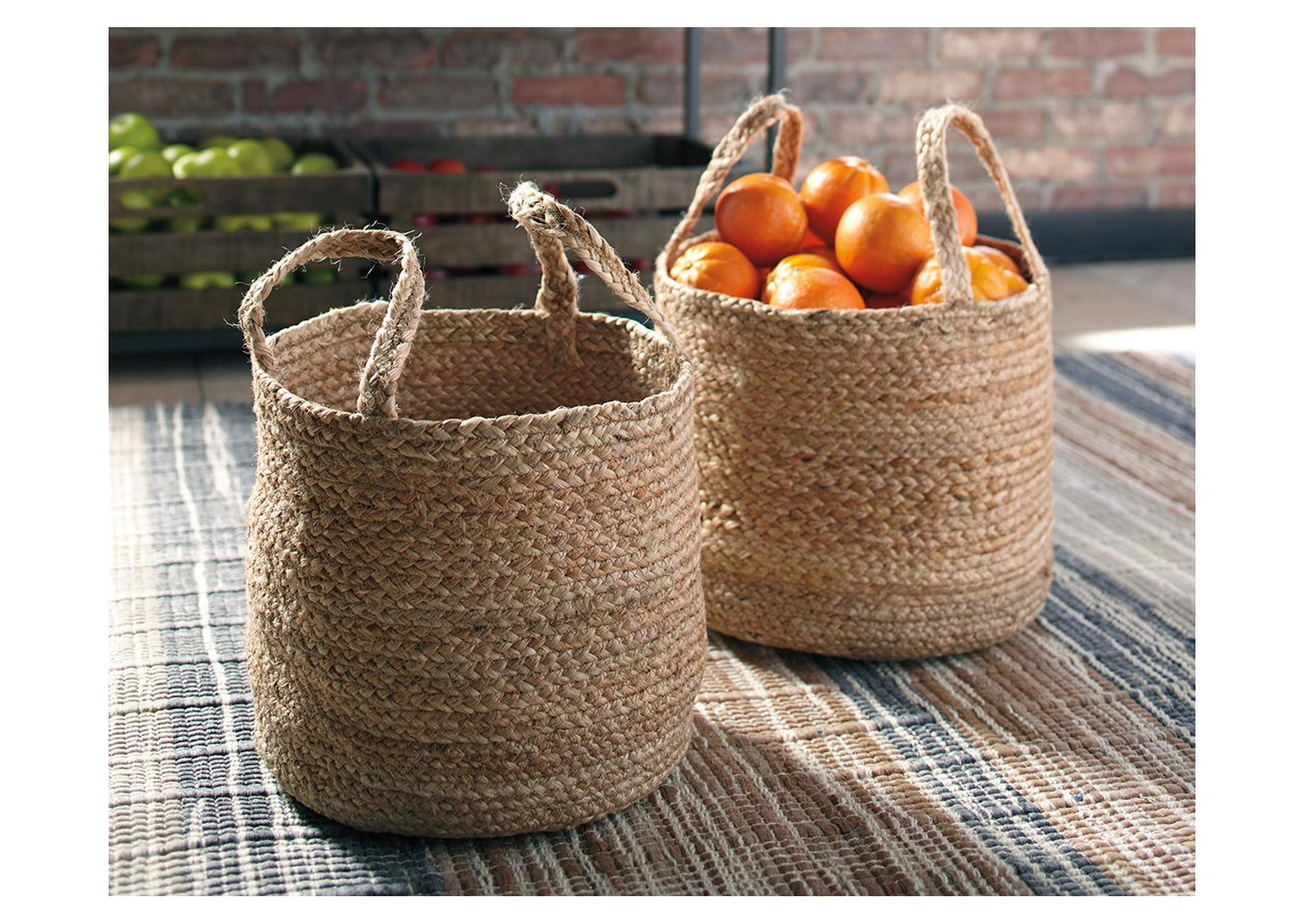 Brayton Basket (Set of 2),Direct To Consumer Express