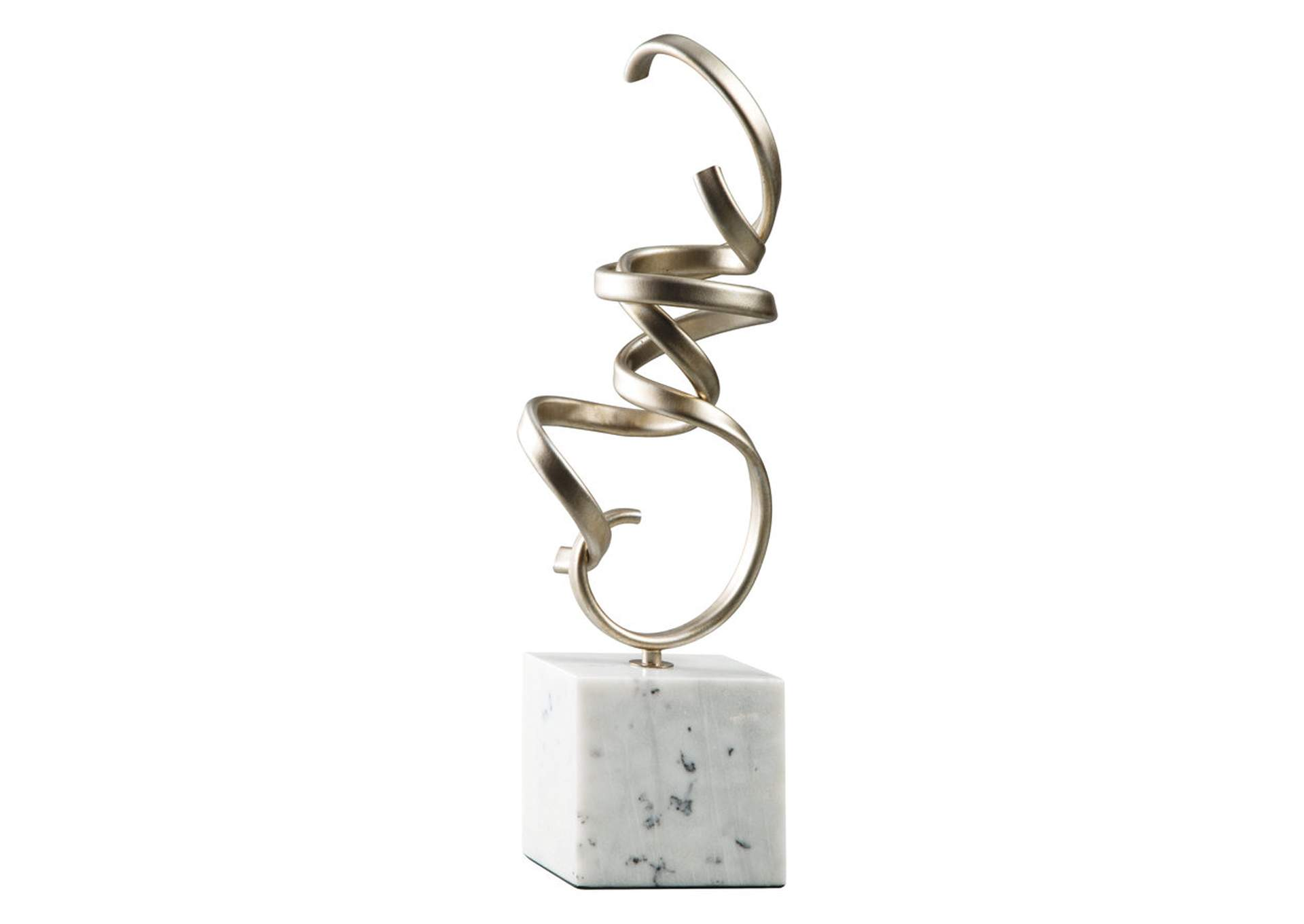 Pallaton Champagne/White Sculpture,Signature Design By Ashley