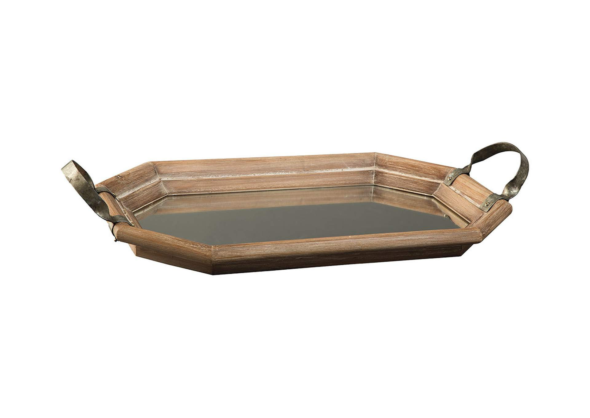 Kadmiel Natural/Gold Finish Tray,Direct To Consumer Express