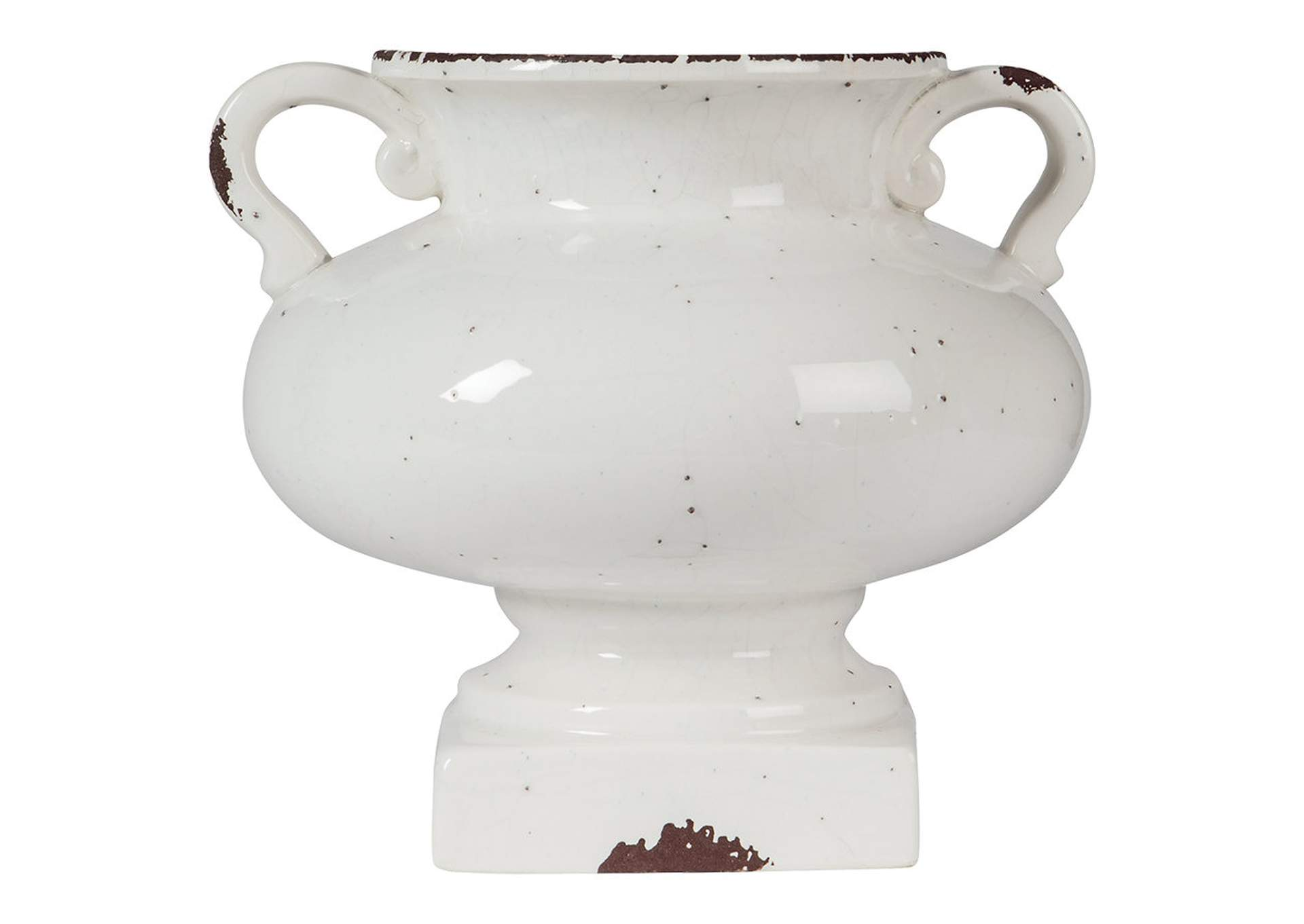 Dierdra Antique White Urn,Direct To Consumer Express
