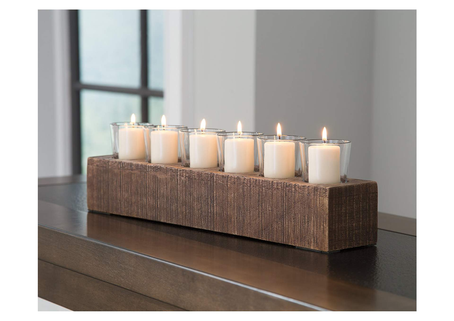 Cassandra Brown Candle Holder,Direct To Consumer Express
