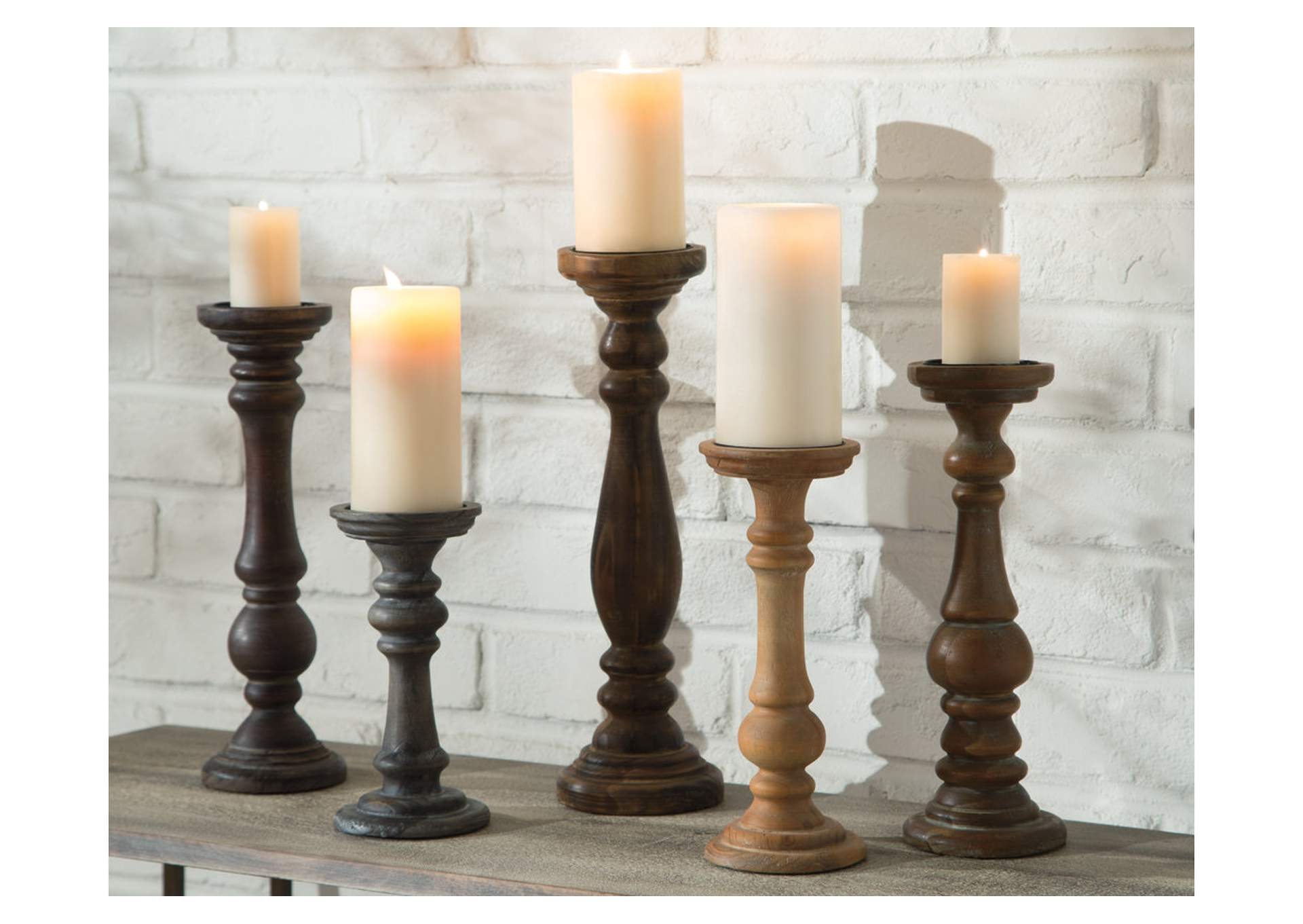 Carston Multi Candle Holder Set (5/CN),Signature Design By Ashley
