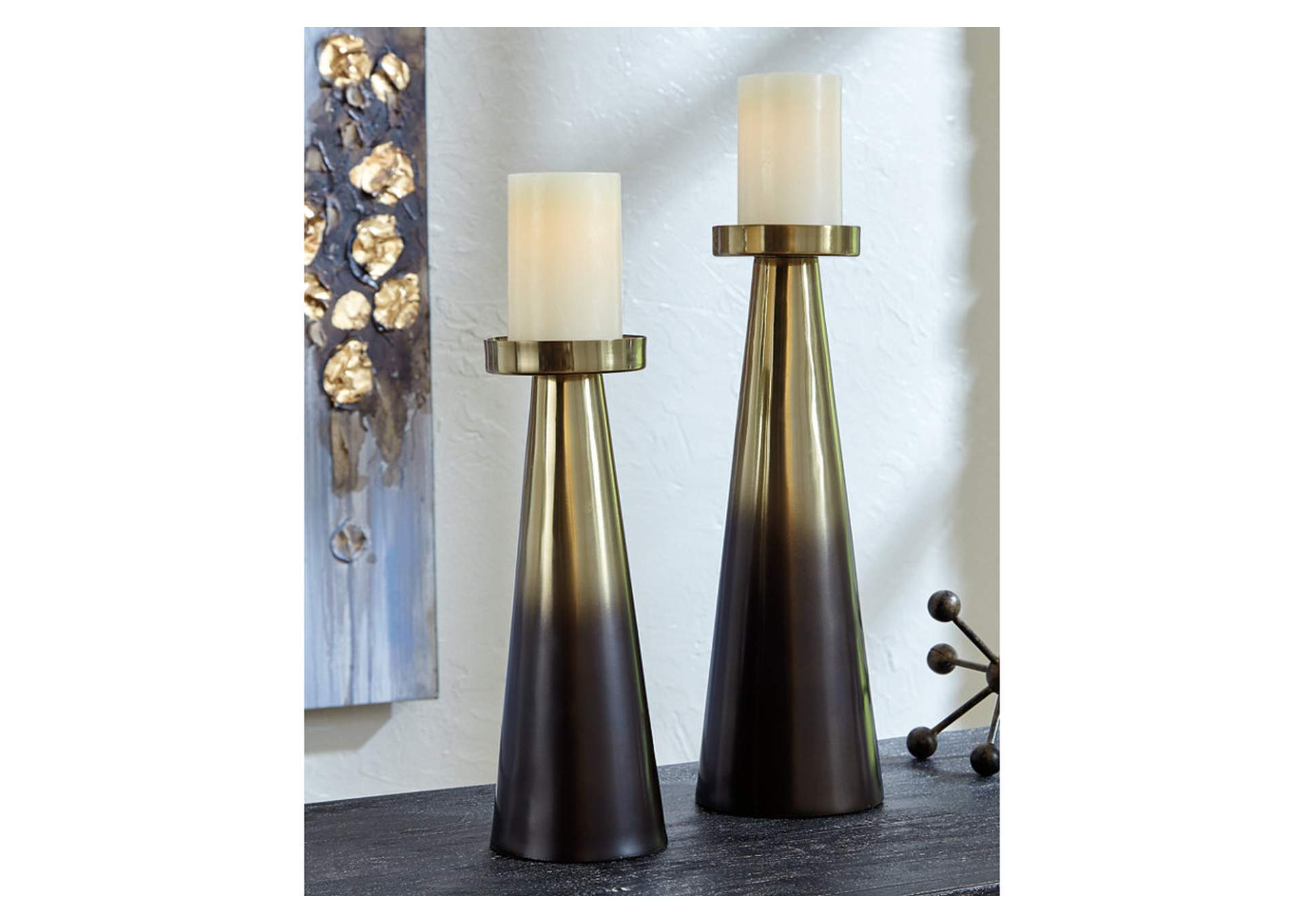 Theseus Candle Holder (Set of 2),Signature Design By Ashley