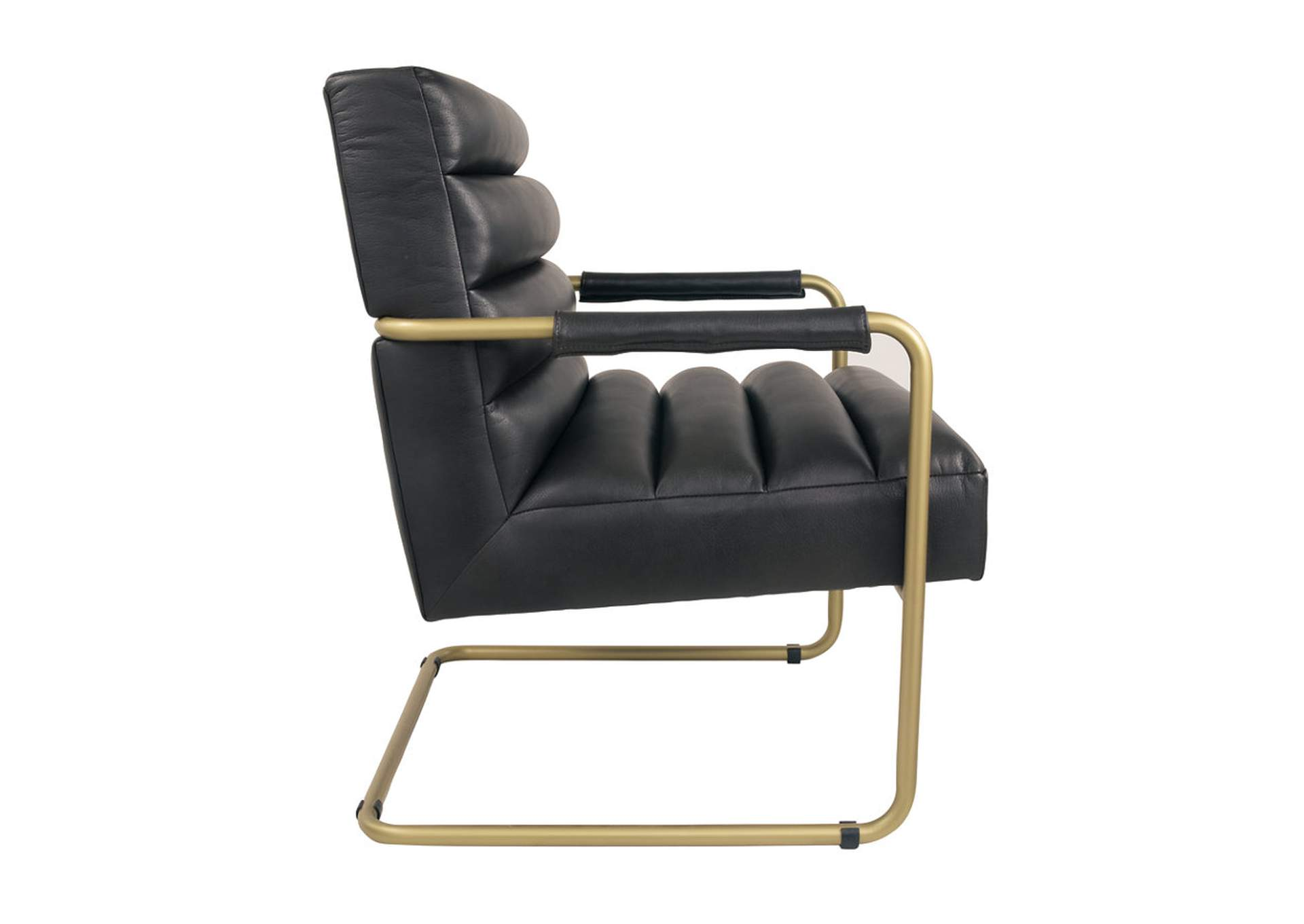 Hackley Black Accent Chair,Direct To Consumer Express