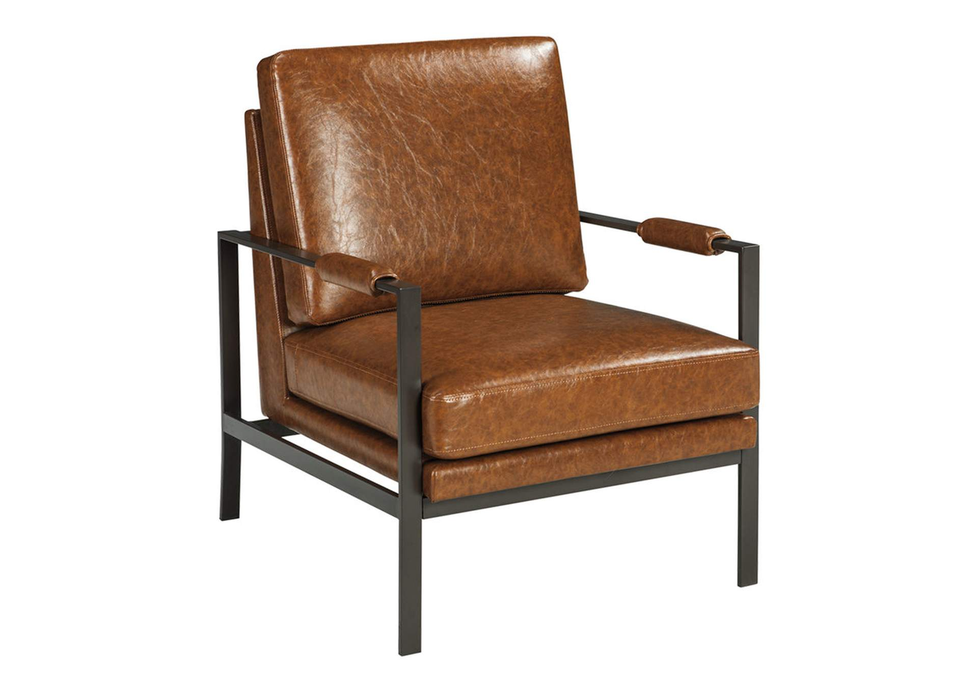 Peacemaker Brown Accent Chair,Direct To Consumer Express