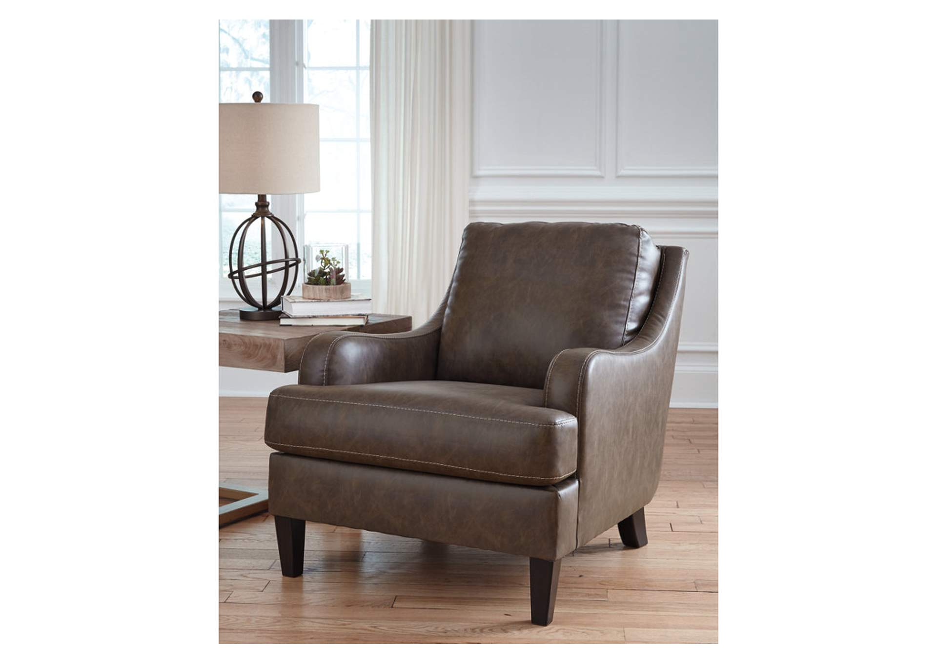 Tirolo Walnut Accent Chair,Signature Design By Ashley