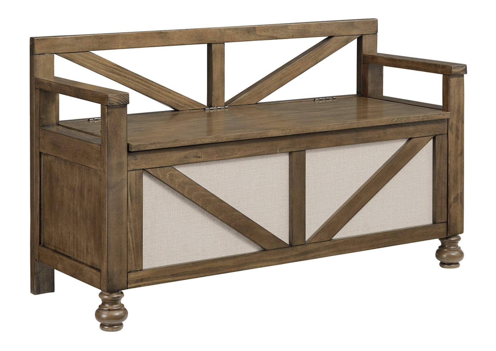 Brickwell Storage Bench,Signature Design By Ashley