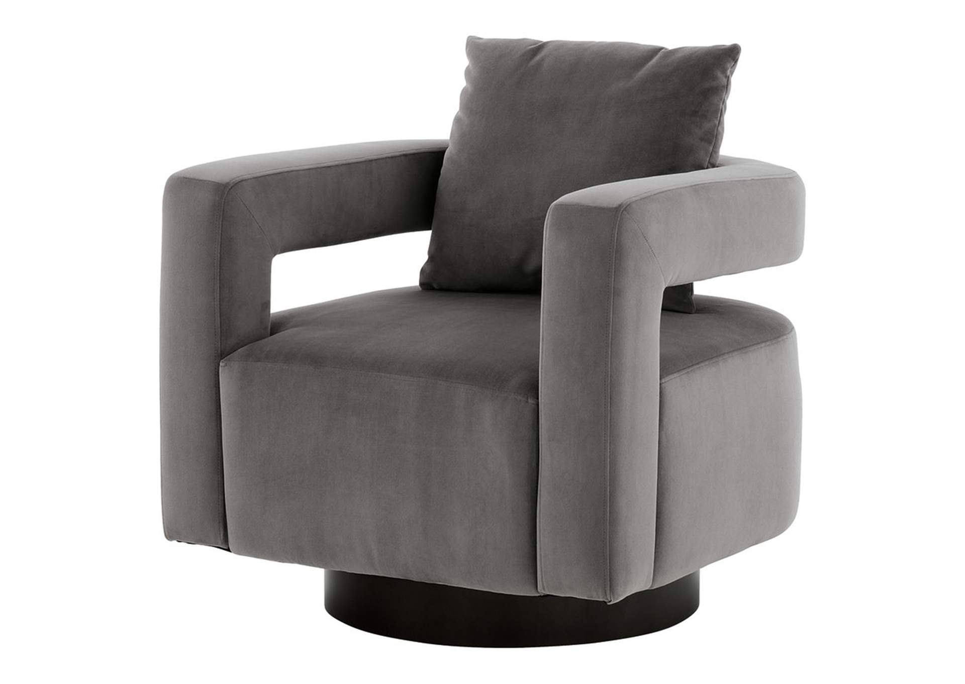Alcoma Swivel Accent Chair,Signature Design By Ashley
