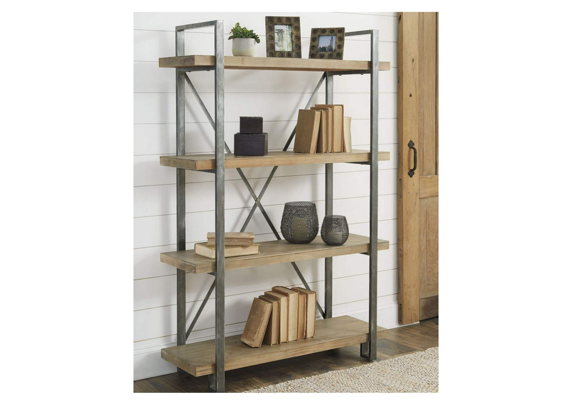 Forestmin Brown/Black Shelf,Direct To Consumer Express