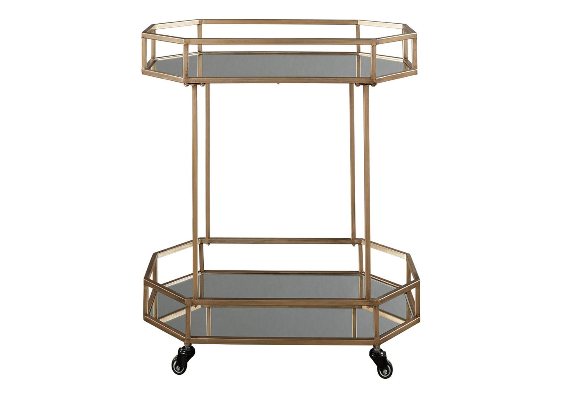 Daymont Yellow Bar Cart,Direct To Consumer Express