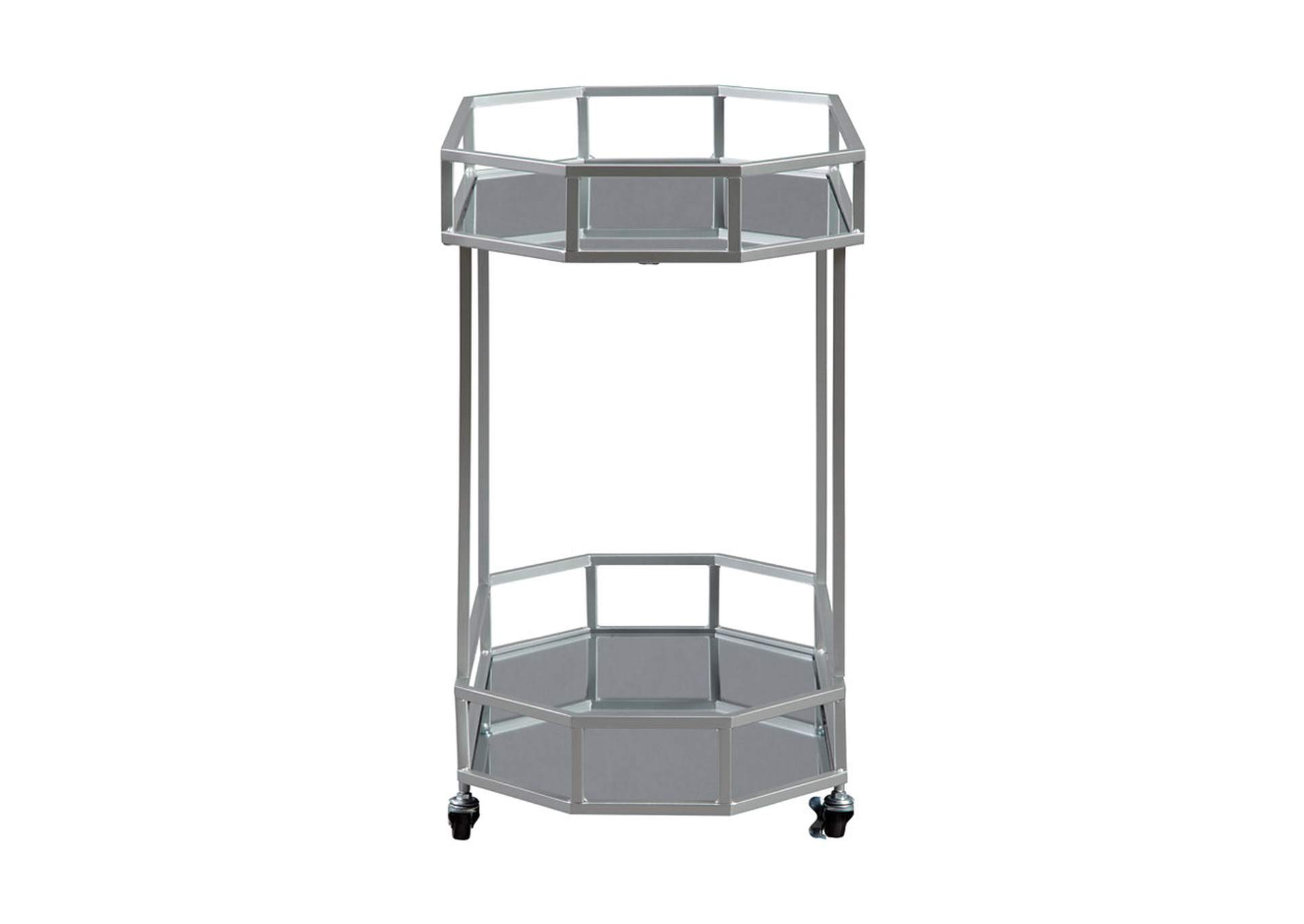 Kadinburg Gray Bar Cart,Direct To Consumer Express