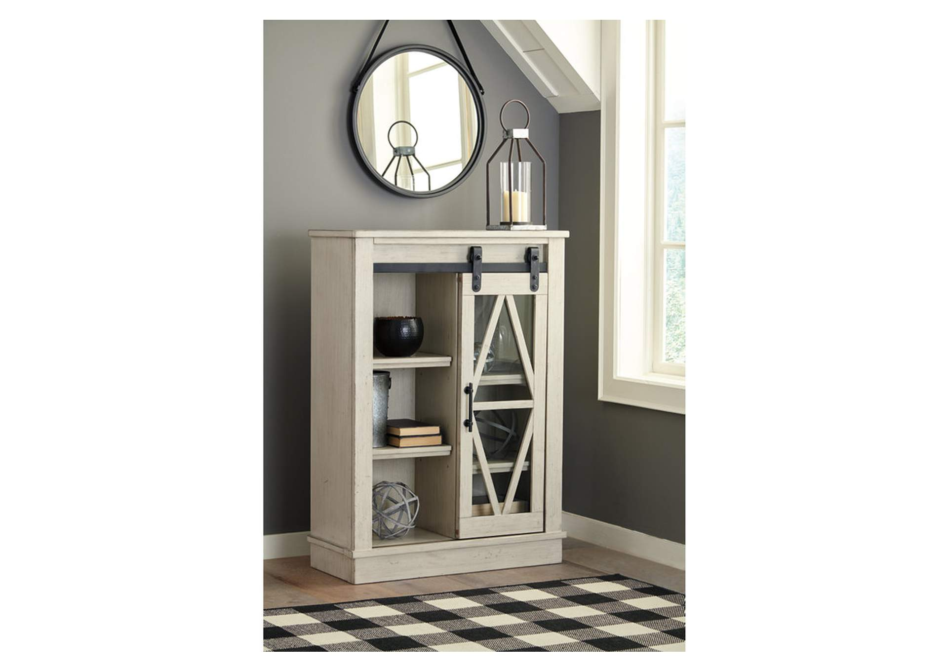 Bronfield White Accent Cabinet,Signature Design By Ashley