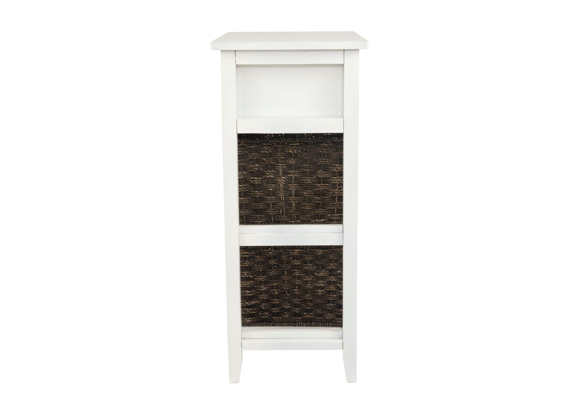 Oslember White Accent Table,Signature Design By Ashley