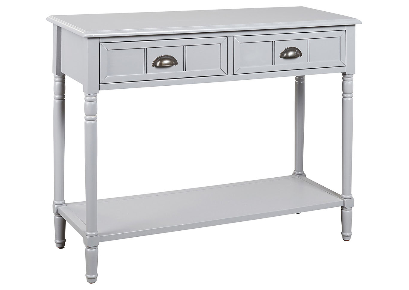 Goverton Gray Console Sofa Table,Signature Design By Ashley