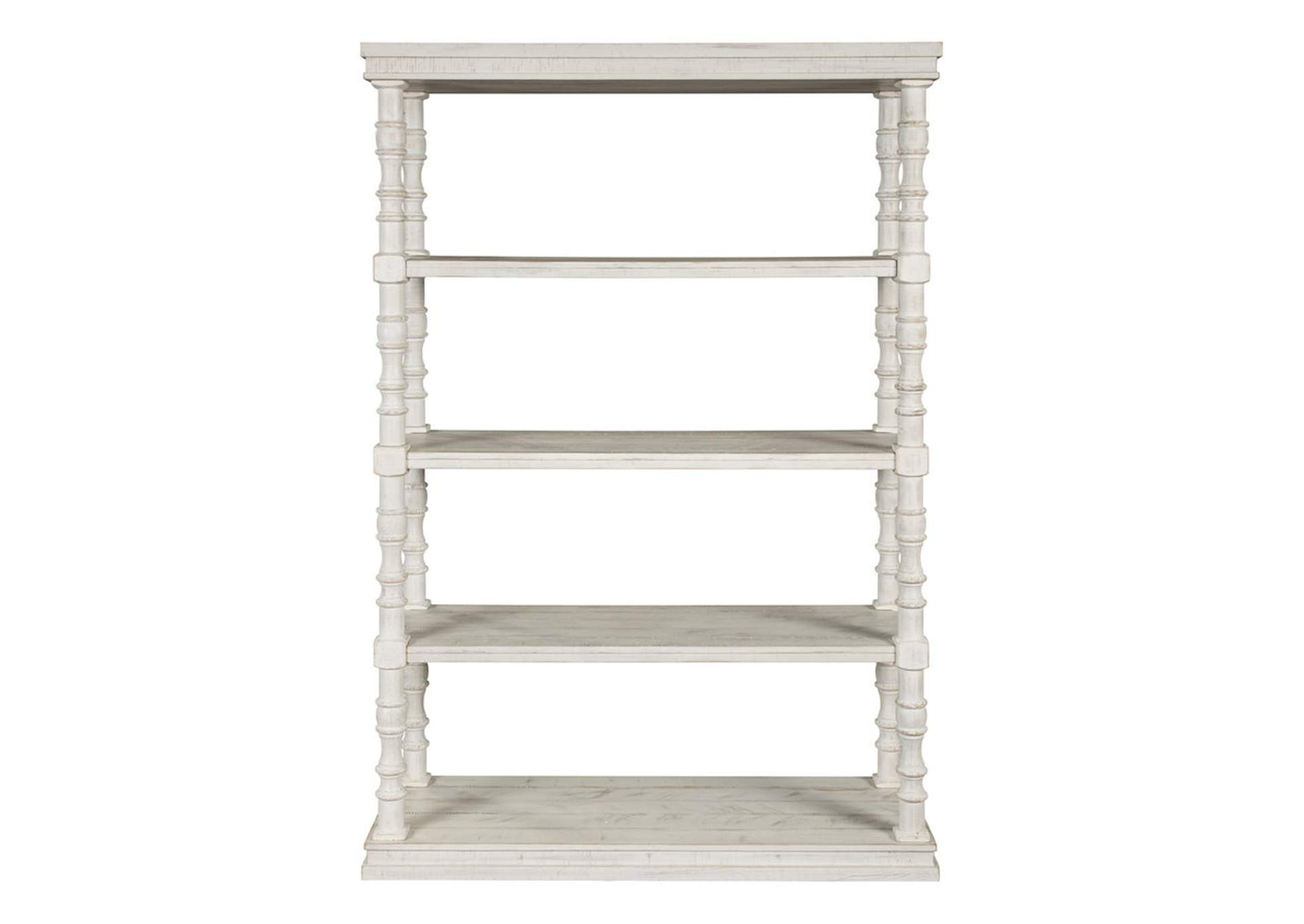 "Dannerville White 74"" Bookcase,Signature Design By Ashley"